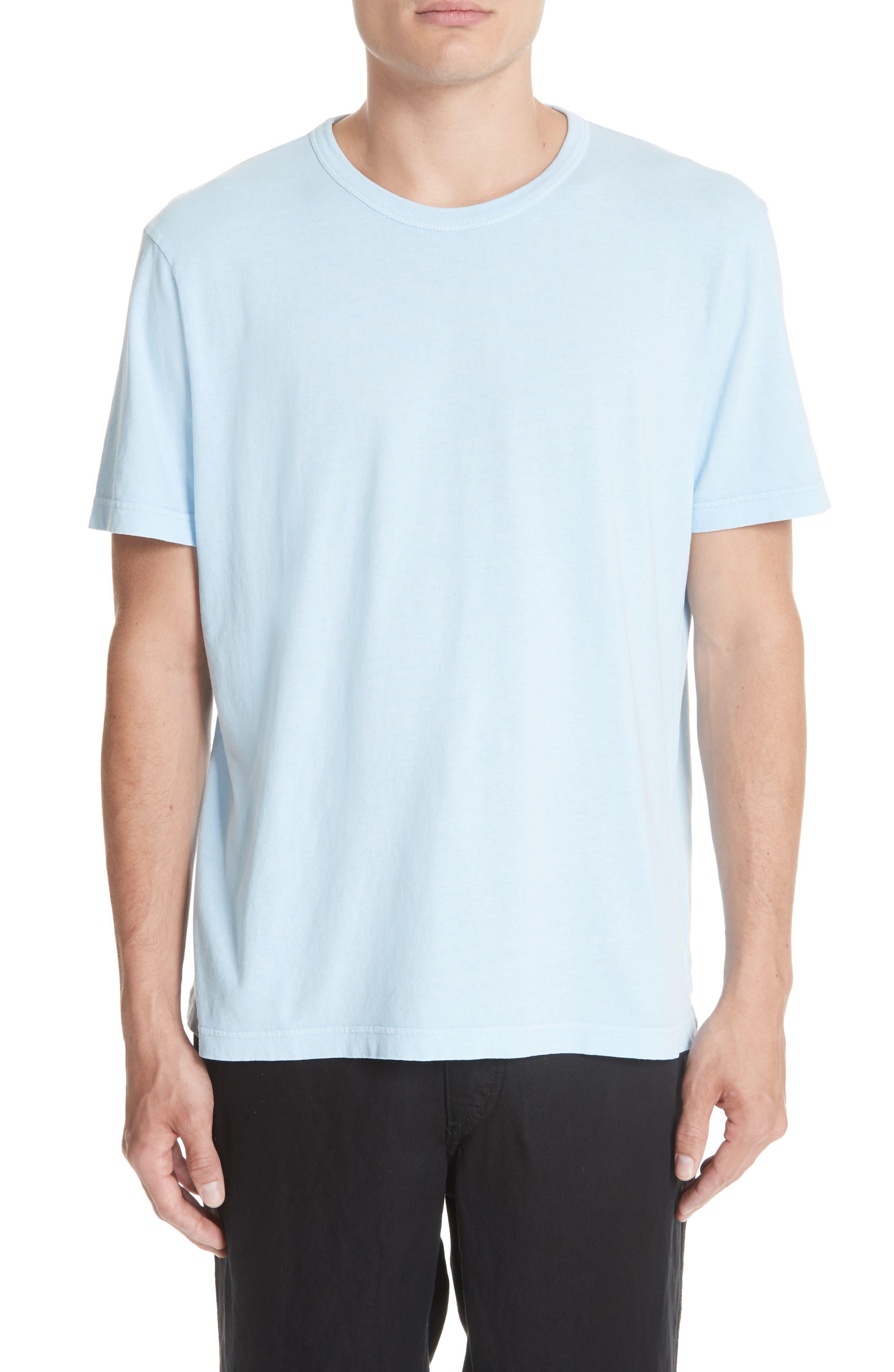 New Box T-Shirt,                         Main,                         color, LIGHT BLUE