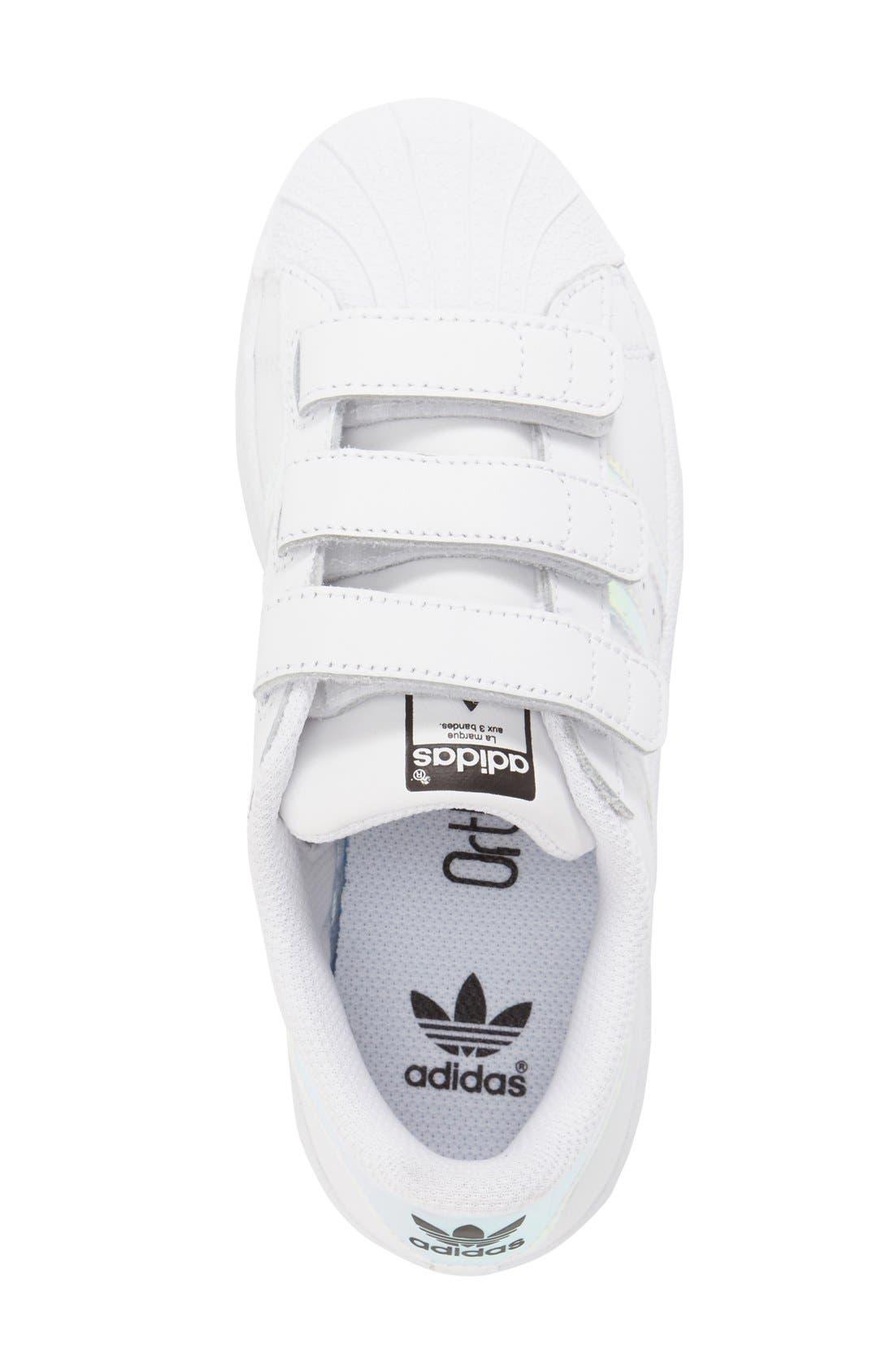 Superstar - Iridescent Sneaker,                             Alternate thumbnail 9, color,                             100