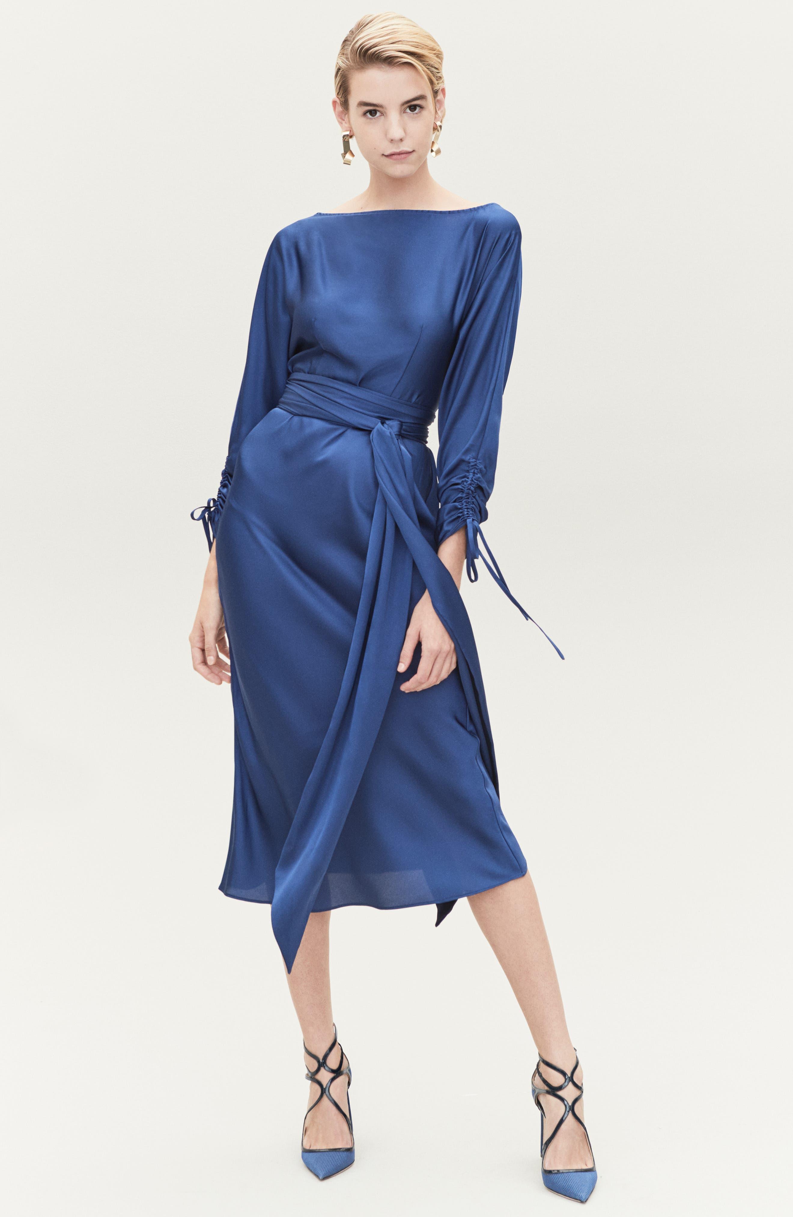 KEEPSAKE THE LABEL,                             Uncovered Midi Dress,                             Alternate thumbnail 9, color,                             430