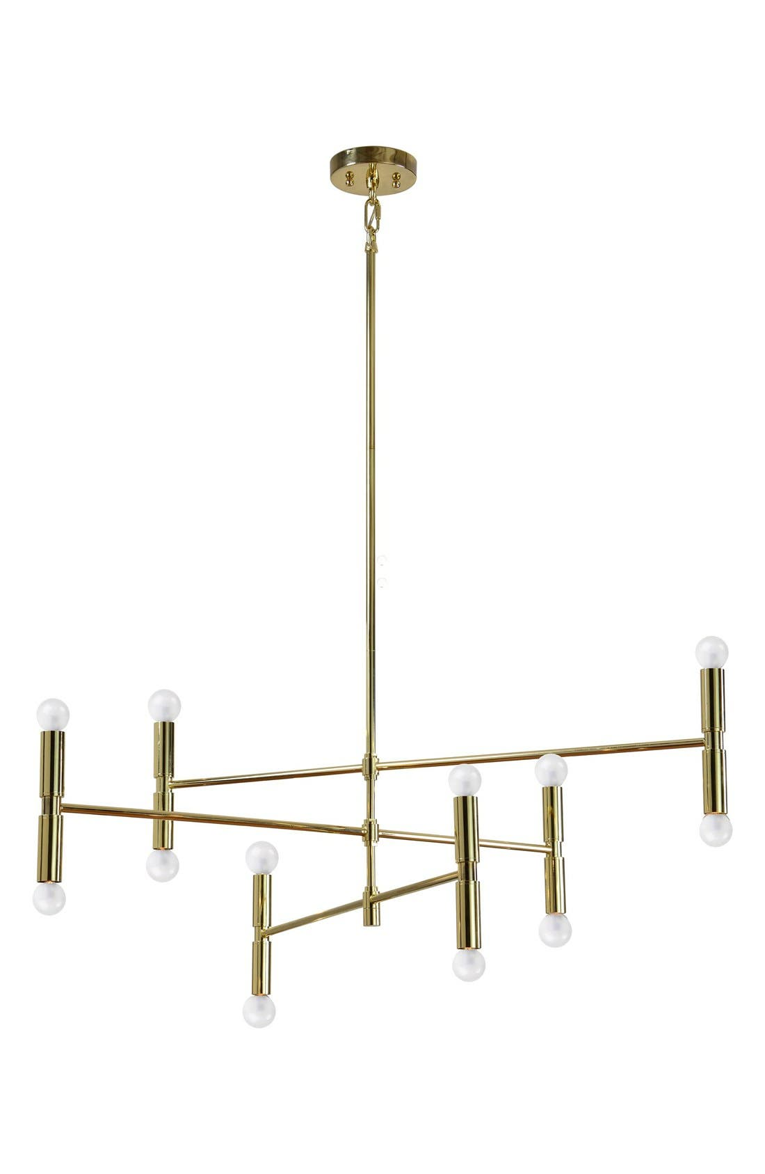 'Axis' Ceiling Light Fixture,                             Main thumbnail 1, color,                             GOLD