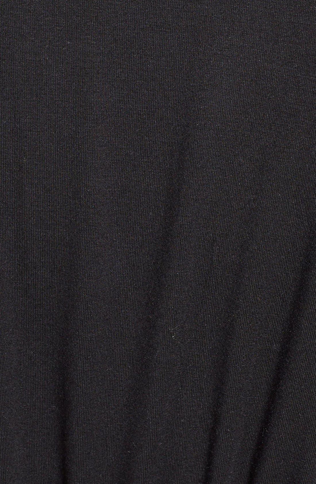 'City Essentials' Short Robe,                             Alternate thumbnail 7, color,                             001