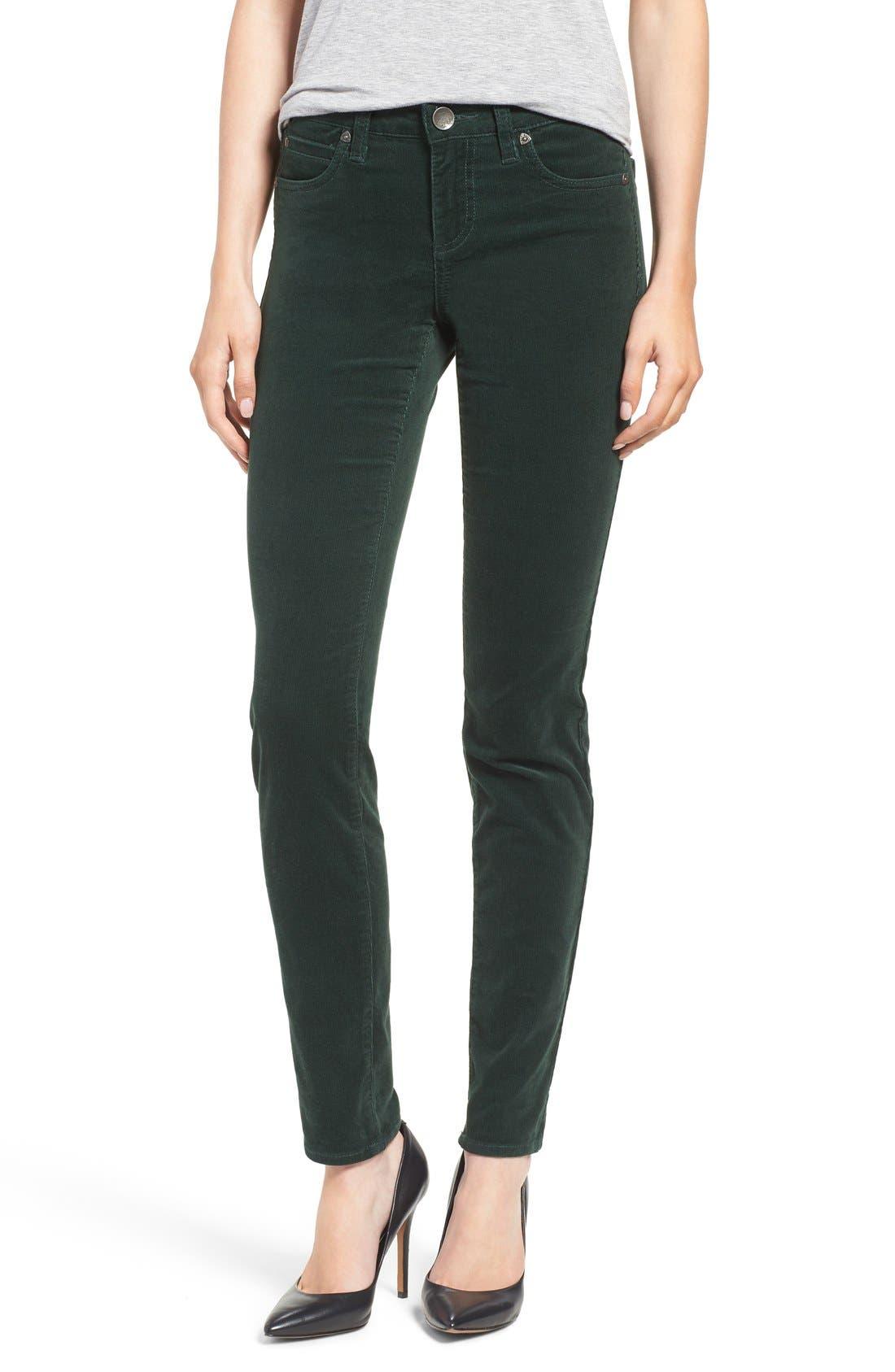 'Diana' Stretch Corduroy Skinny Pants,                             Main thumbnail 27, color,