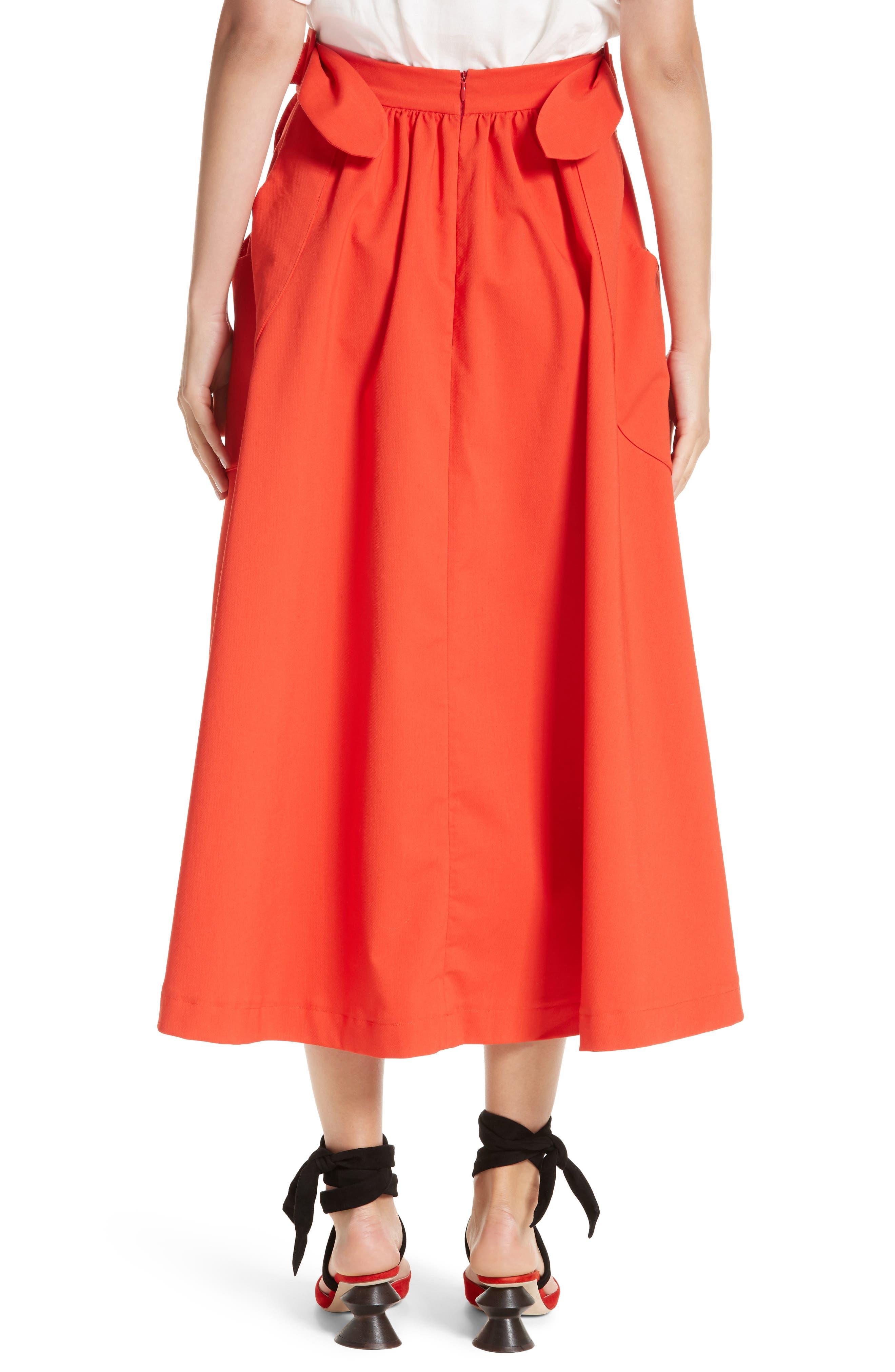 Belted Pocket Skirt,                             Alternate thumbnail 2, color,                             610
