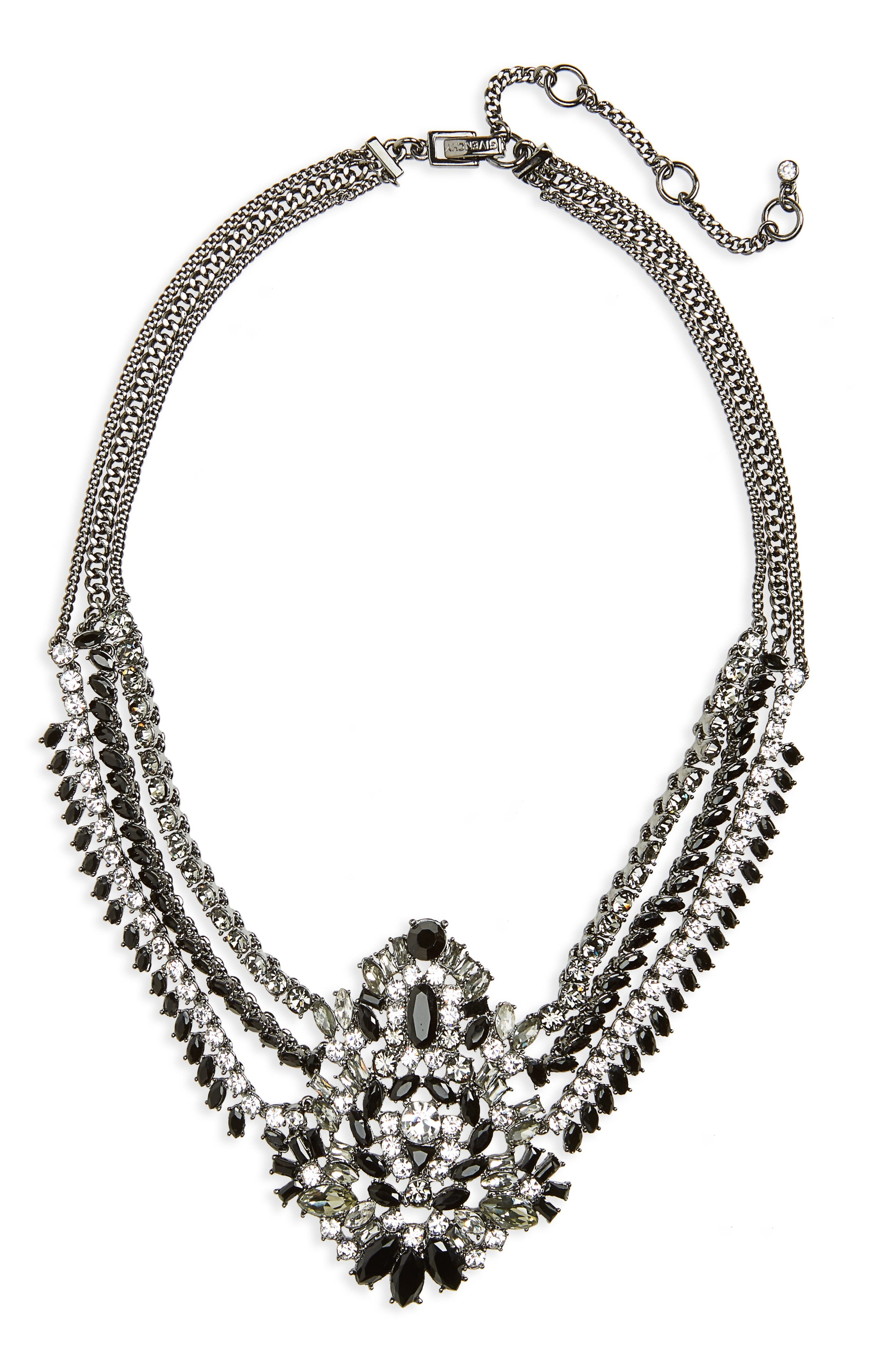 Phoenix Swag Collar Necklace,                             Main thumbnail 1, color,                             001