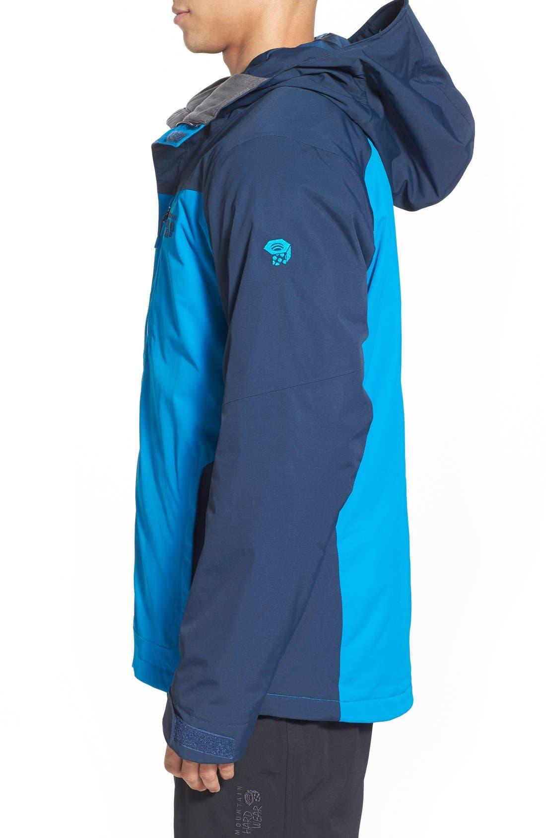 'Dragon's Back<sup>™</sup>' Waterproof Ski Jacket,                             Alternate thumbnail 4, color,                             425