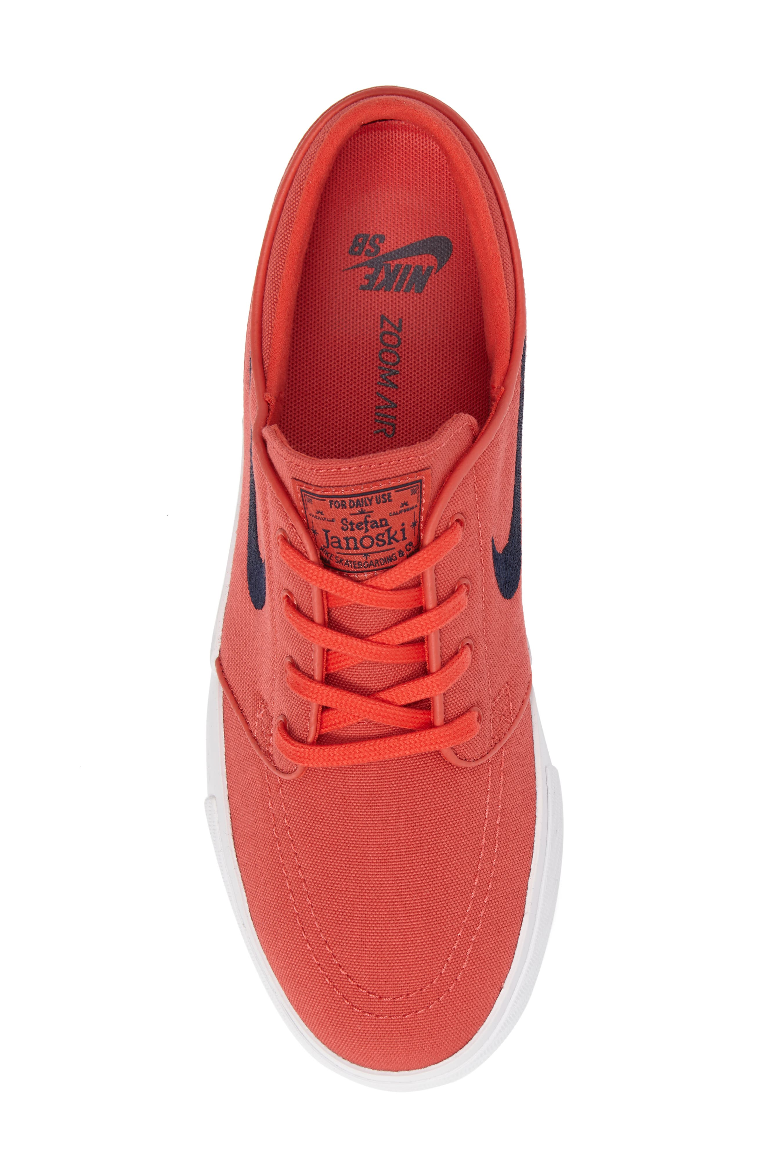 Zoom - Stefan Janoski SB Canvas Skate Shoe,                             Alternate thumbnail 186, color,