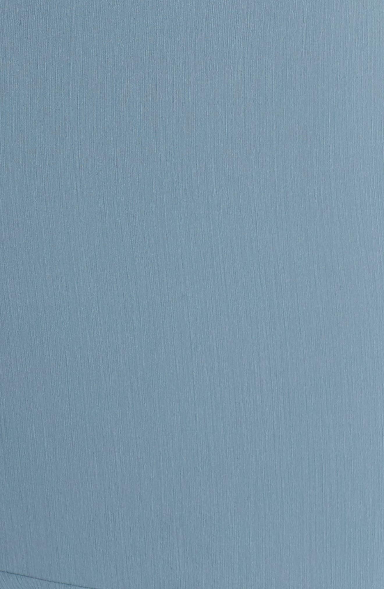 Lauren Cold Shoulder Tiered Gown,                             Alternate thumbnail 13, color,