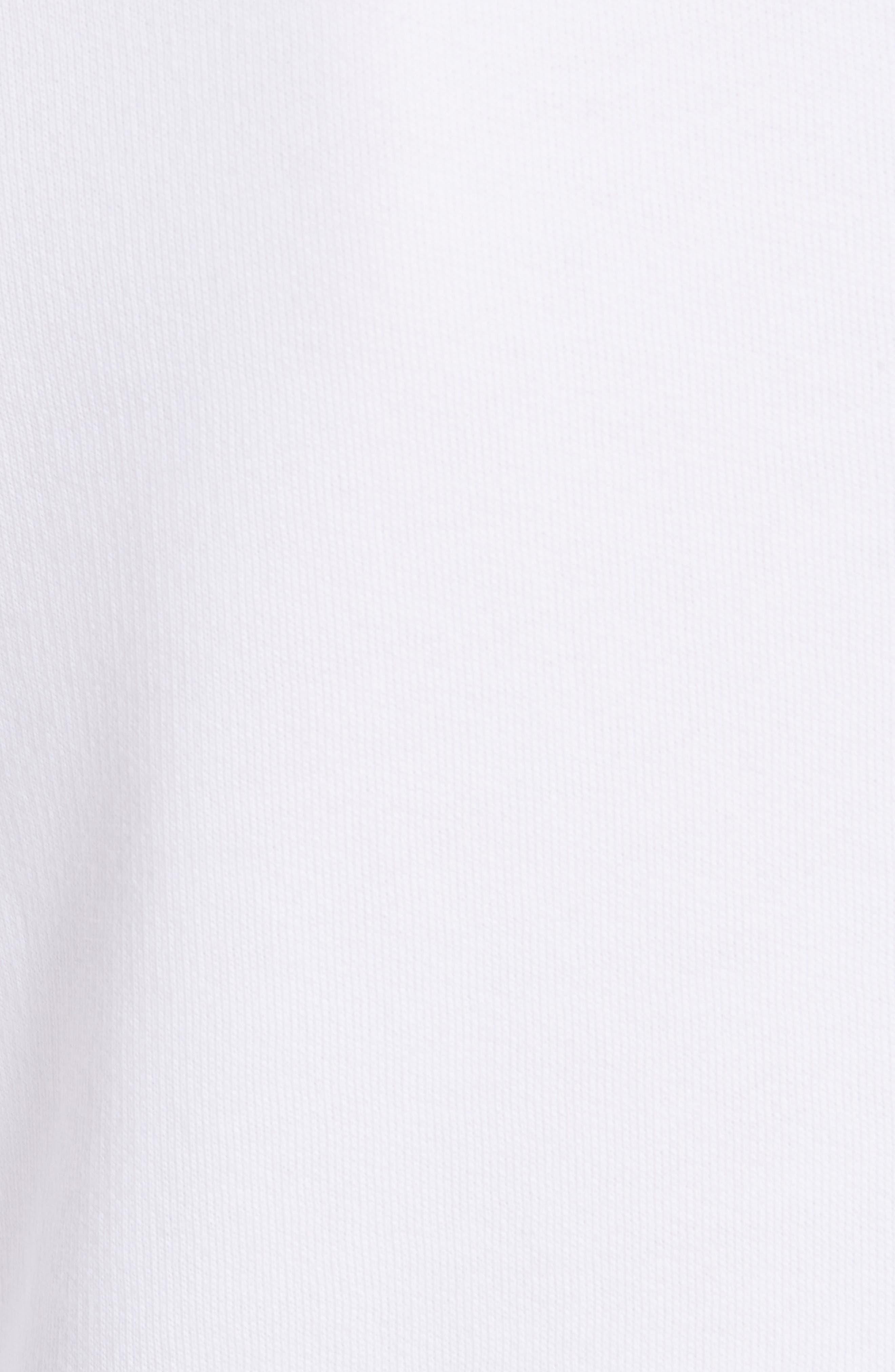 Classic Tiger Sweatshirt,                             Alternate thumbnail 5, color,                             WHITE