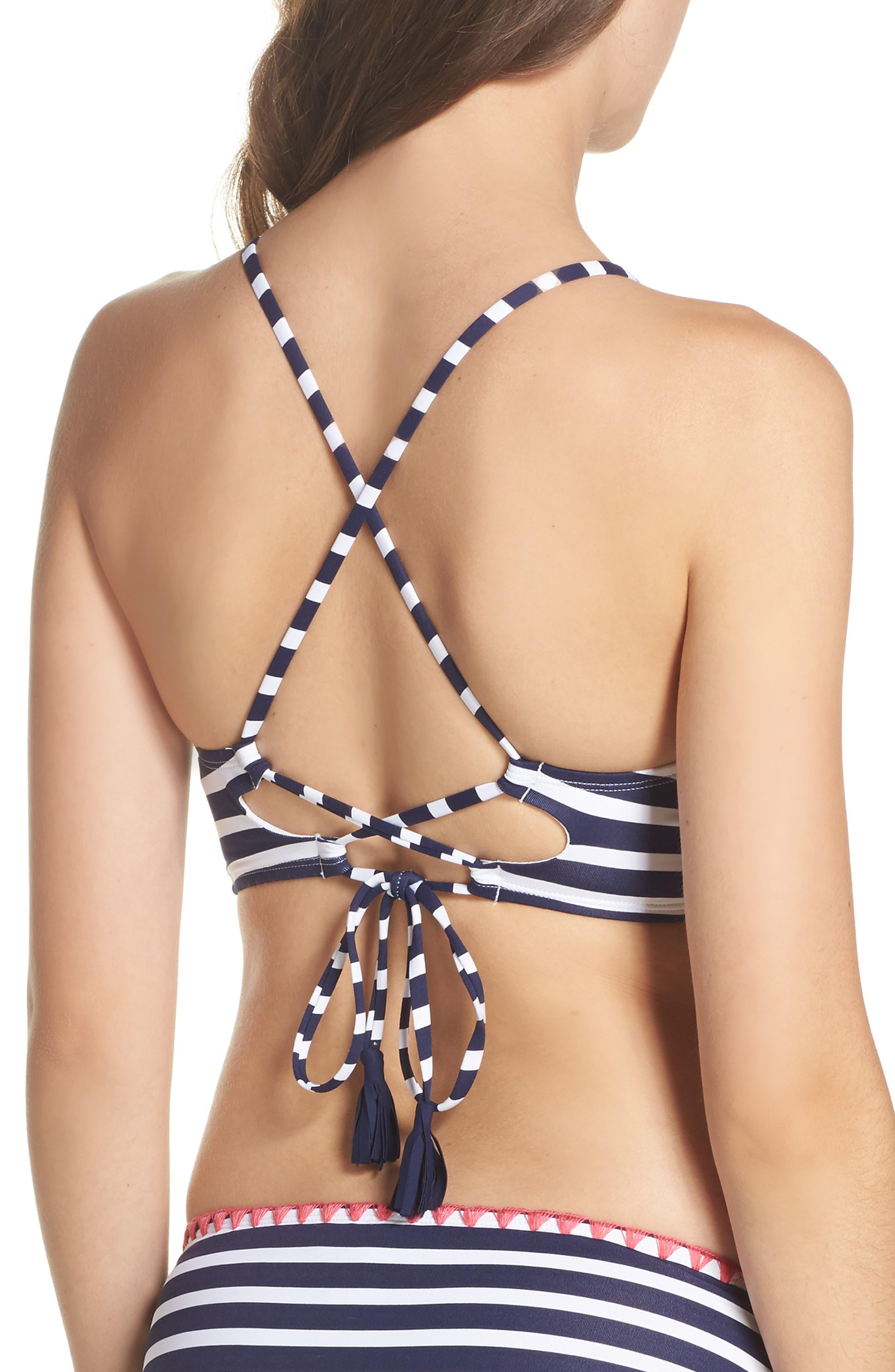 TOMMY BAHAMA,                             Breton Stripe Bikini Top,                             Alternate thumbnail 2, color,                             400