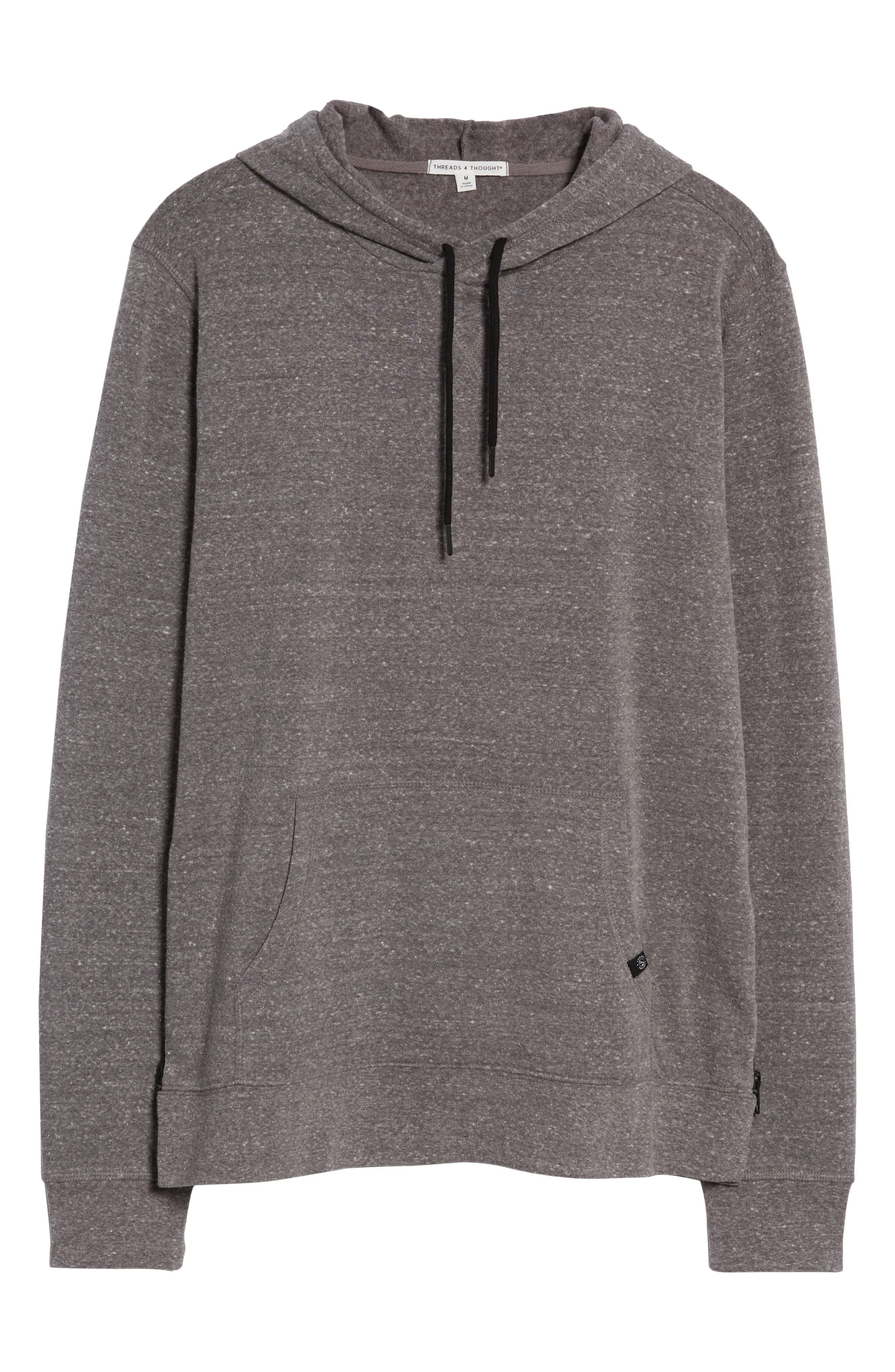 THREADS FOR THOUGHT,                             Barkeley Side Zip Hoodie Sweatshirt,                             Alternate thumbnail 6, color,                             020