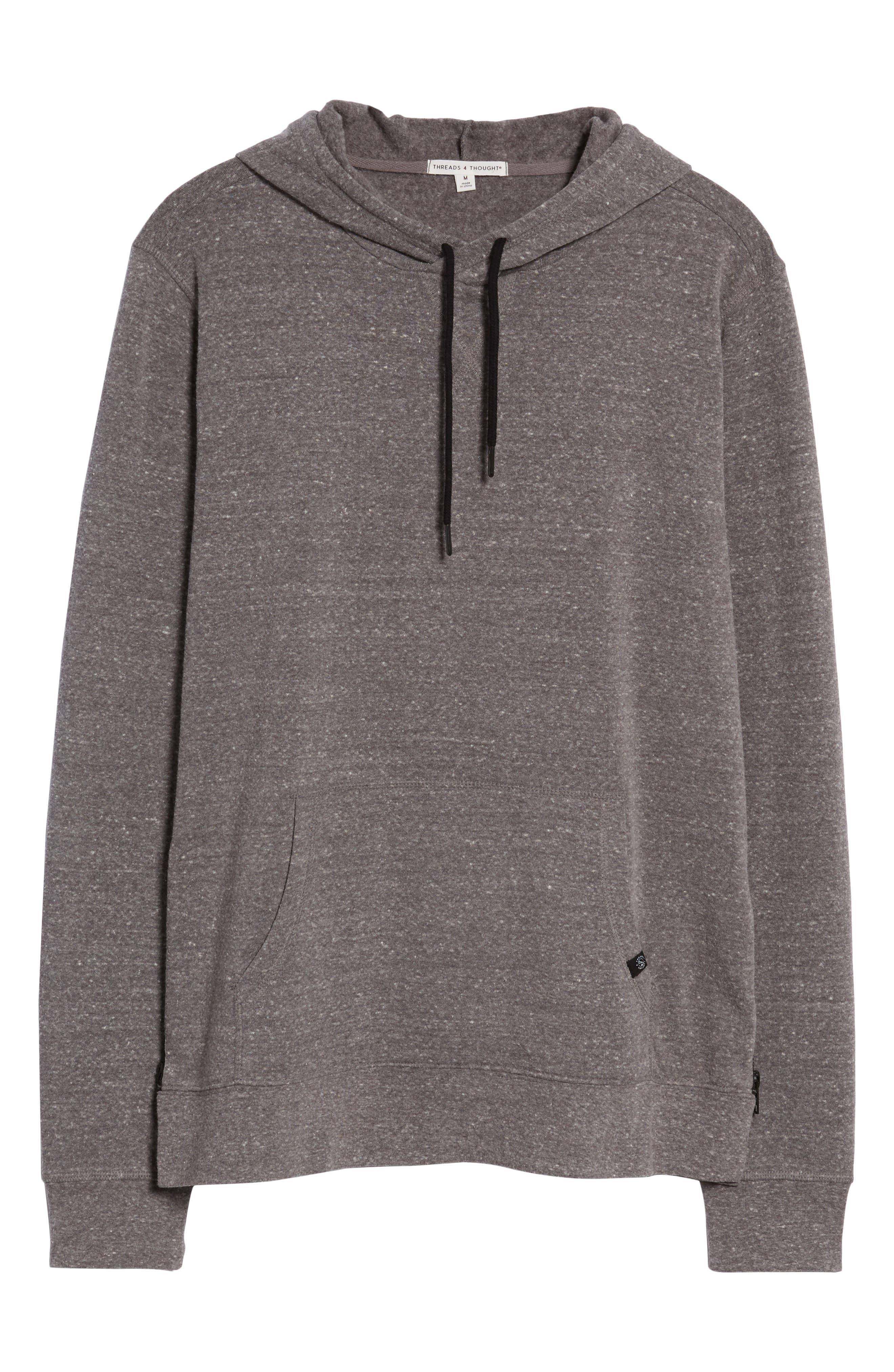 Barkeley Side Zip Hoodie Sweatshirt,                             Alternate thumbnail 6, color,                             020