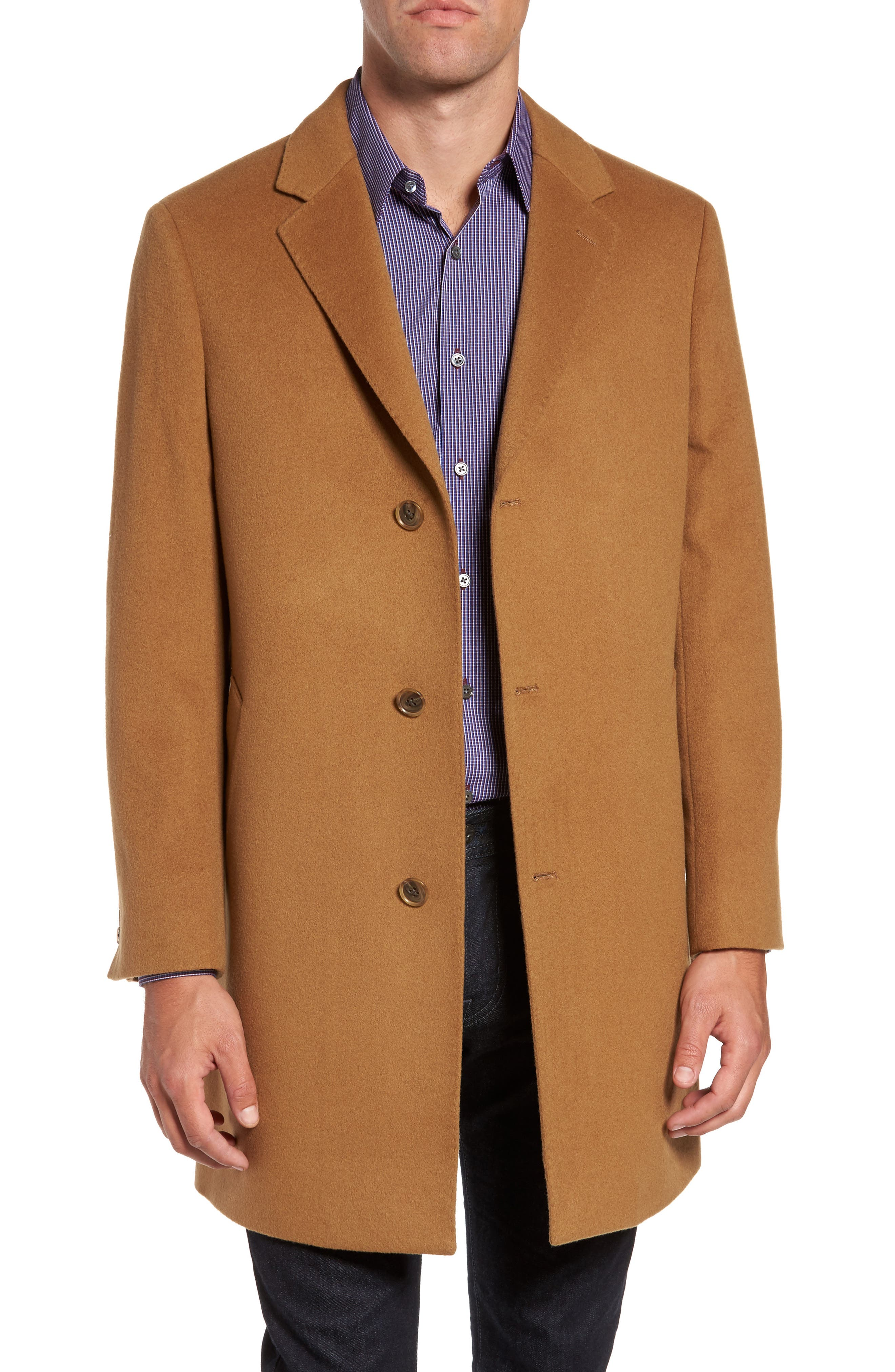 Mason Wool & Cashmere Overcoat,                             Main thumbnail 3, color,