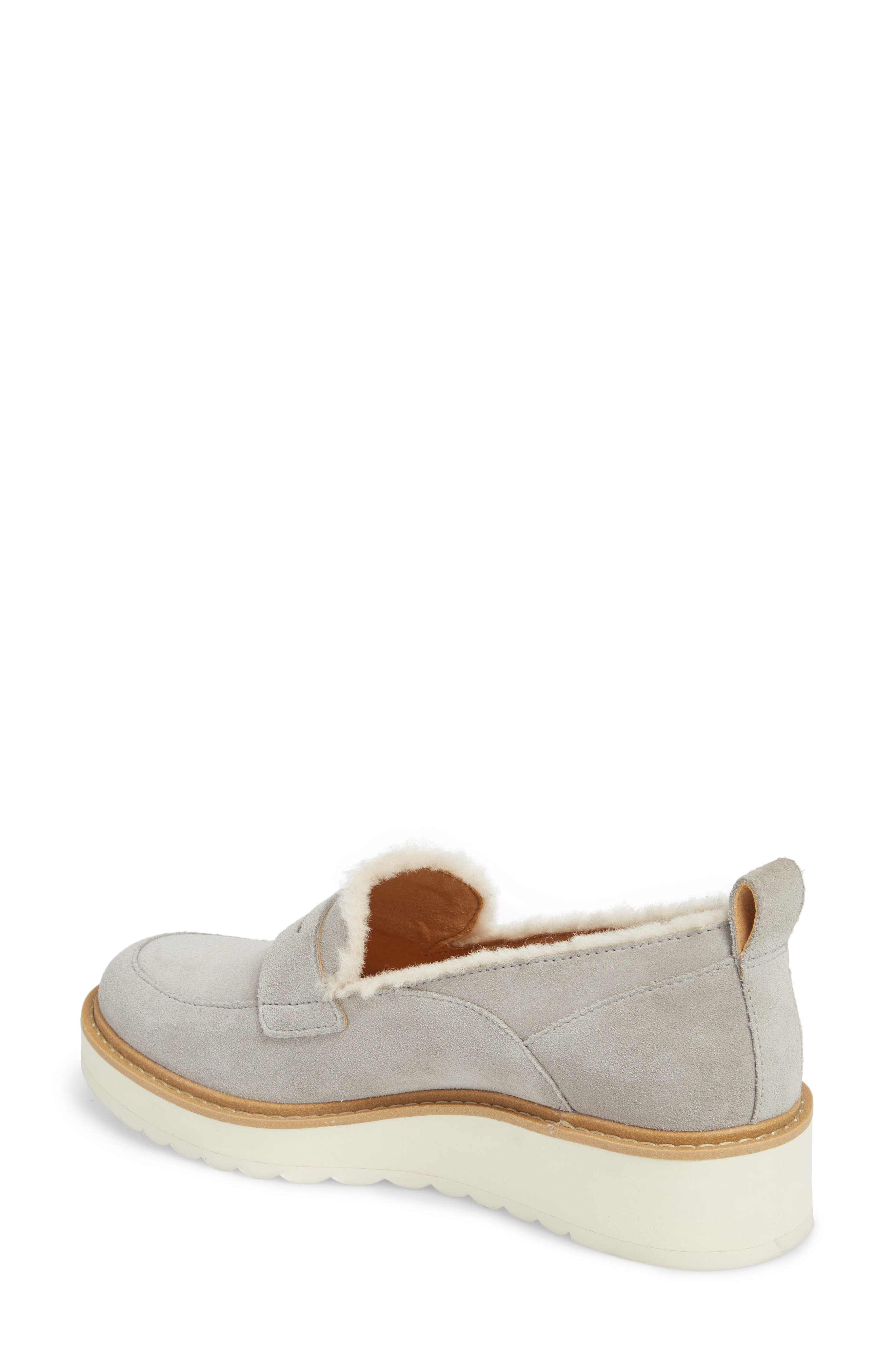 Atwater Spill Seam Wedge Loafer,                             Alternate thumbnail 2, color,                             SEAL LEATHER
