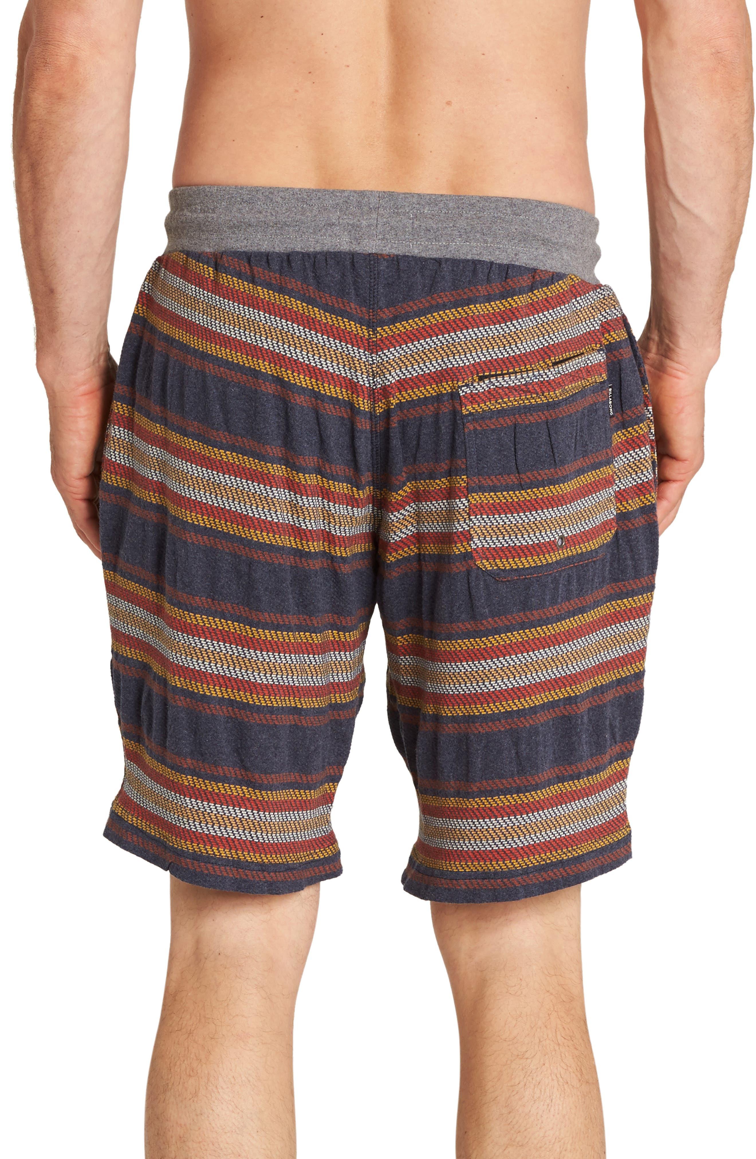 Flecker Baja Shorts,                             Alternate thumbnail 2, color,                             NAVY HEATHER
