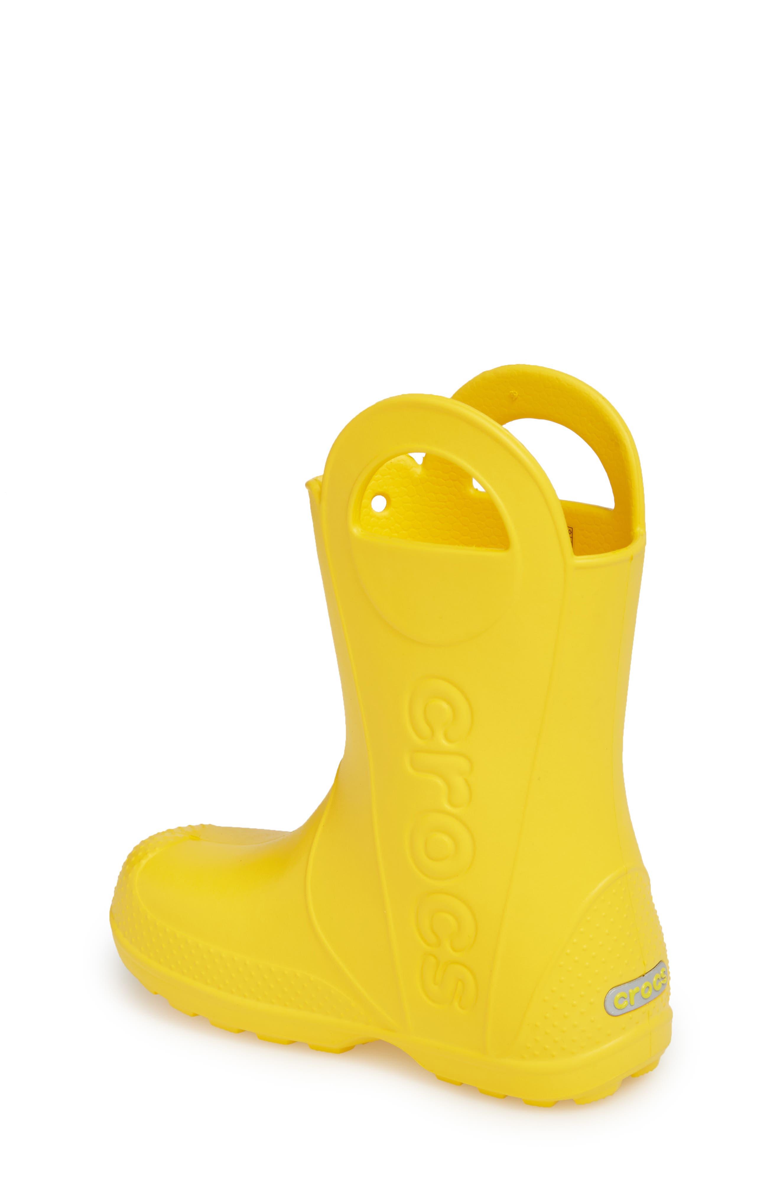 Handle It Rain Boot,                             Alternate thumbnail 2, color,                             YELLOW