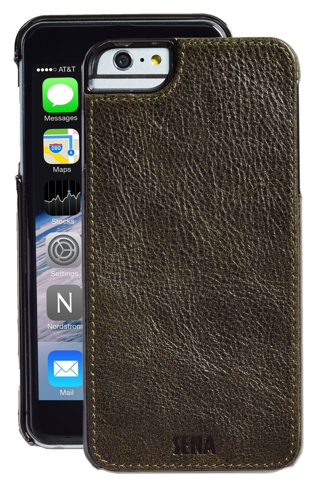 Heritage Lugano Leather iPhone 6 Plus/6s Plus Case,                             Main thumbnail 1, color,                             025