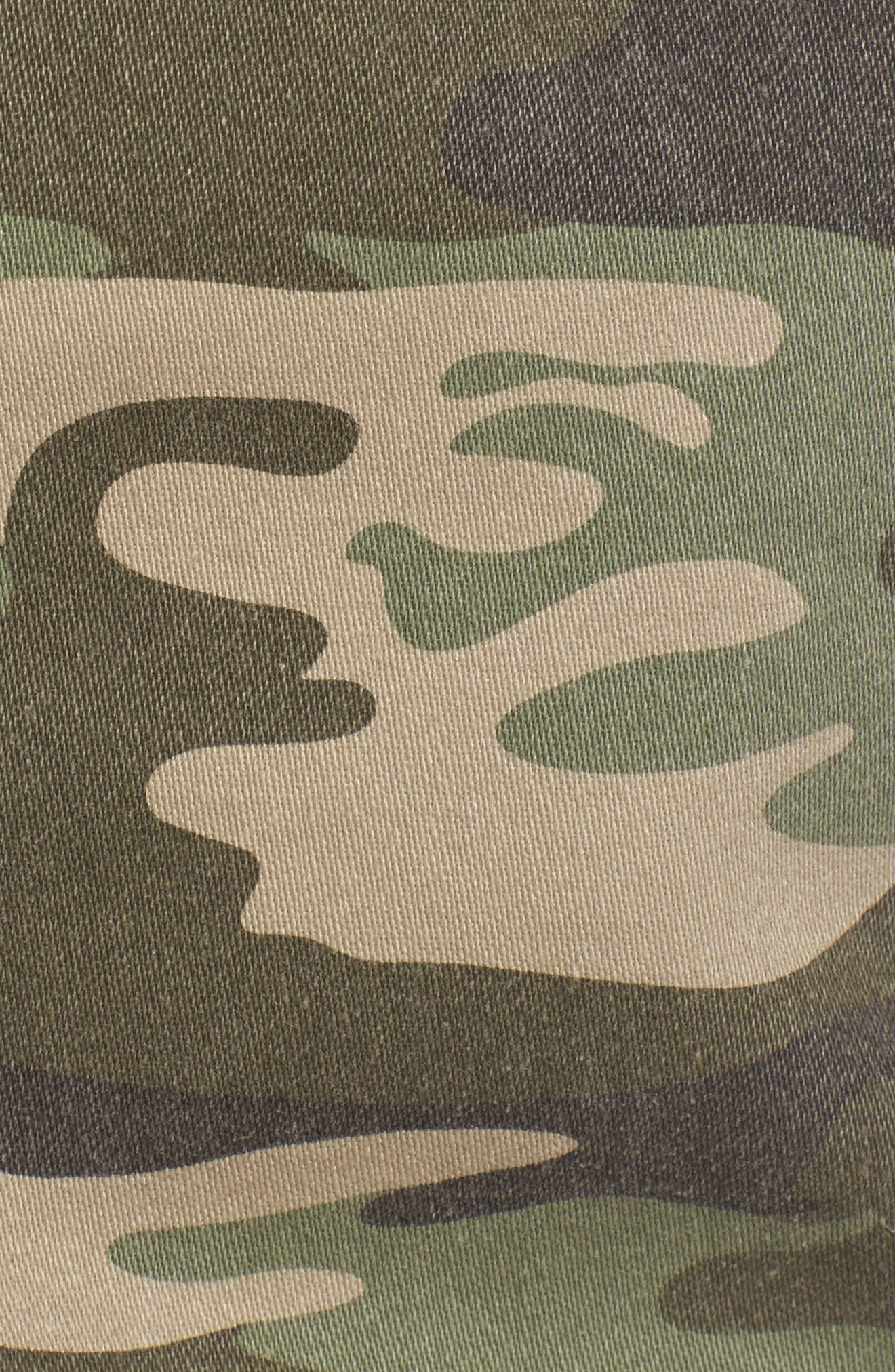Safari Camo Skirt,                             Alternate thumbnail 5, color,                             393