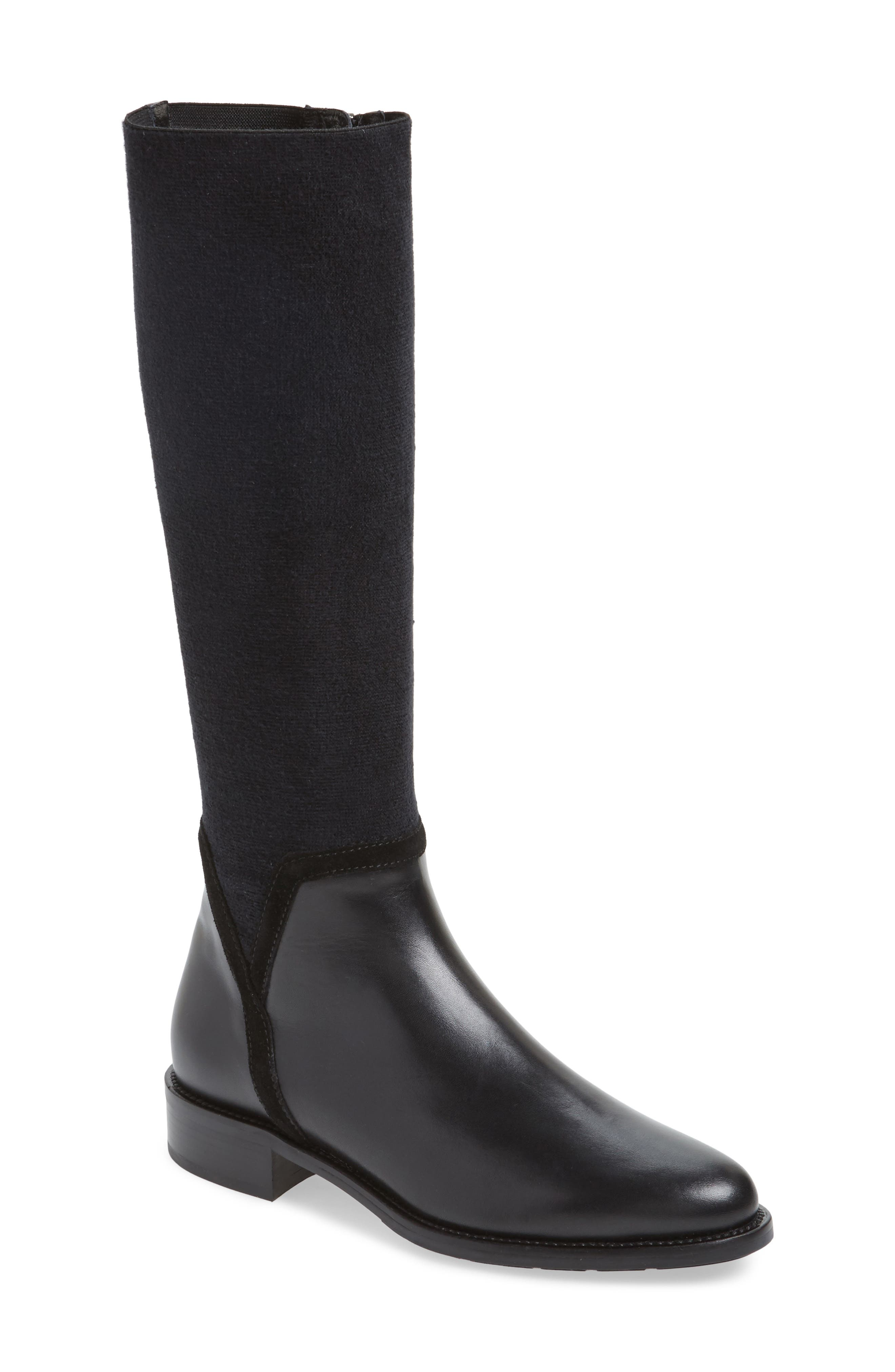 Nicolette Weatherproof Knee High Boot,                             Main thumbnail 1, color,