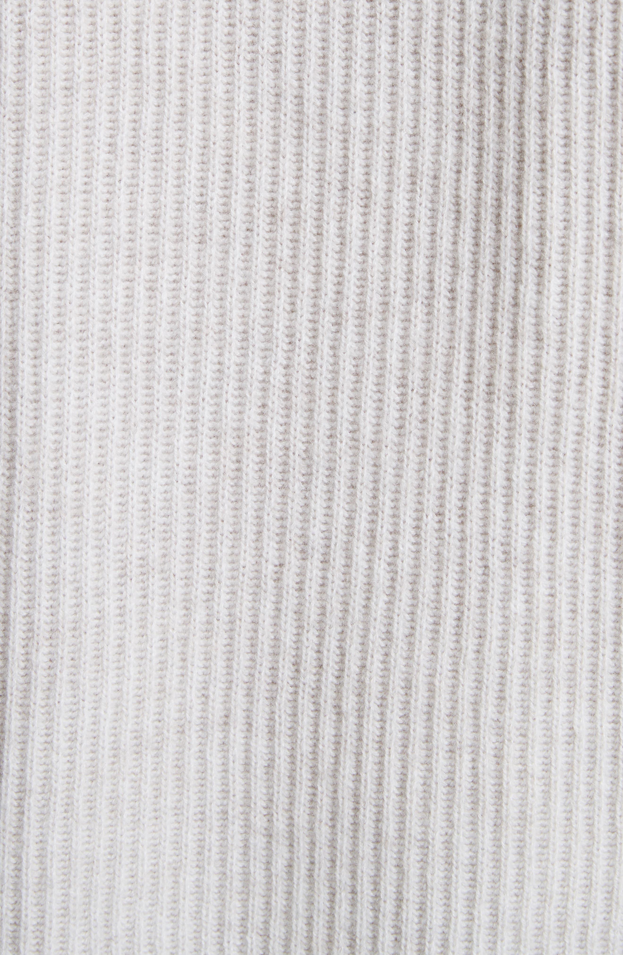 Diagonal Rib Wool & Cashmere Sweater,                             Alternate thumbnail 14, color,
