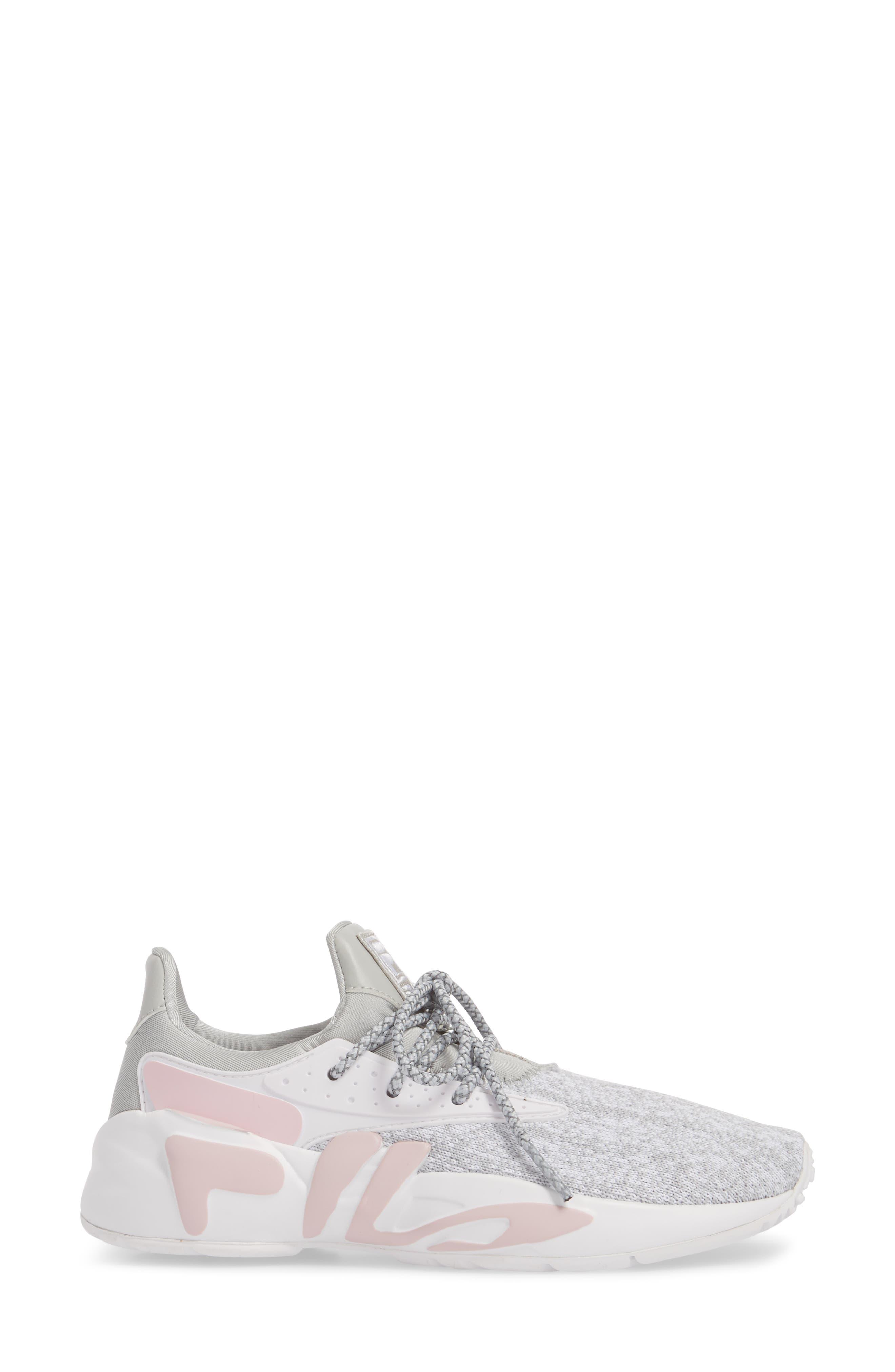 Mindbreaker 2.0 Sneaker,                             Alternate thumbnail 3, color,                             HIGHRISE/ WHITE/ CHALK PINK