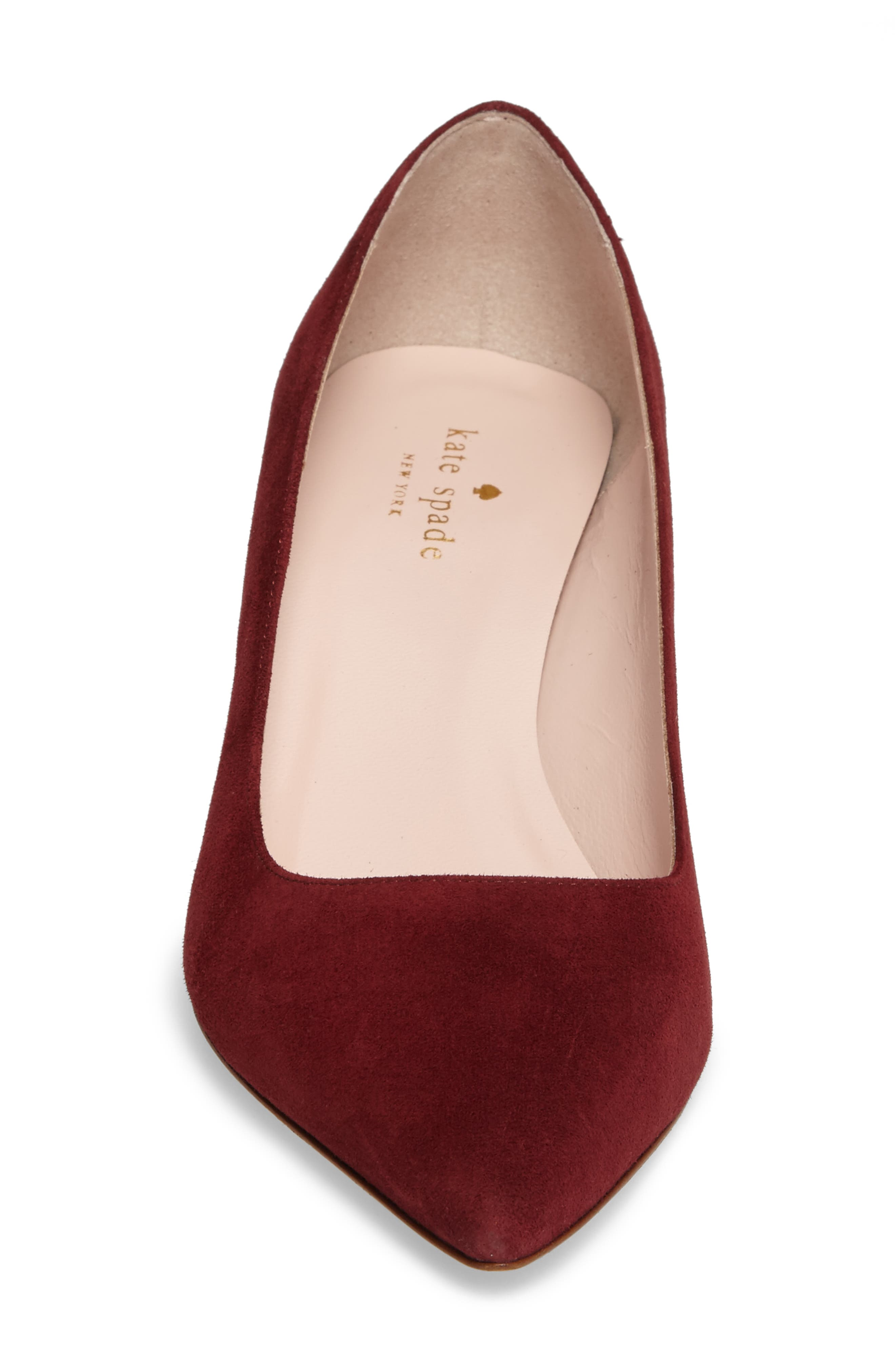 'milan too' pointy toe pump,                             Alternate thumbnail 4, color,                             620