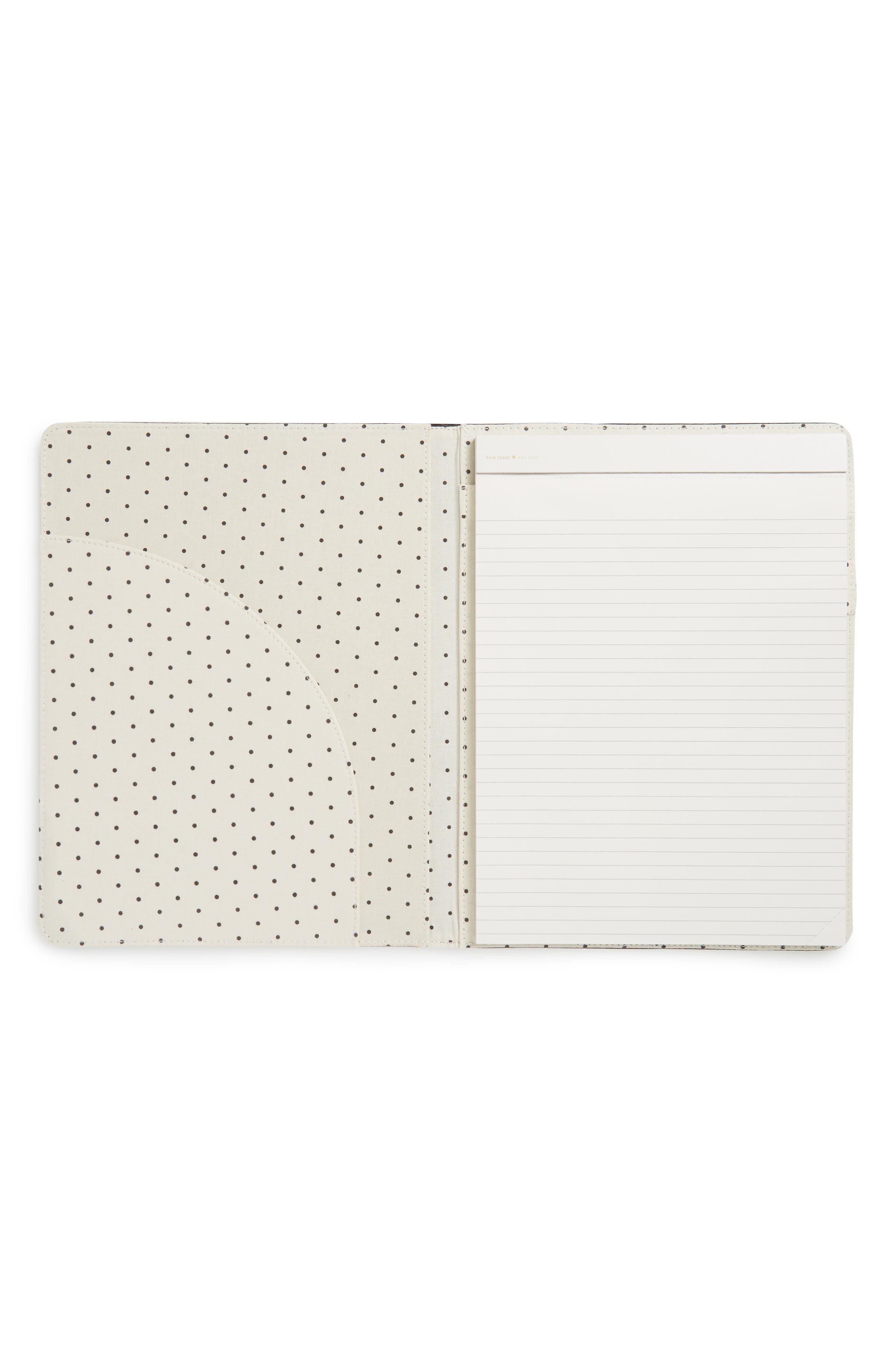 let's talk shop notepad folio,                             Alternate thumbnail 2, color,                             001