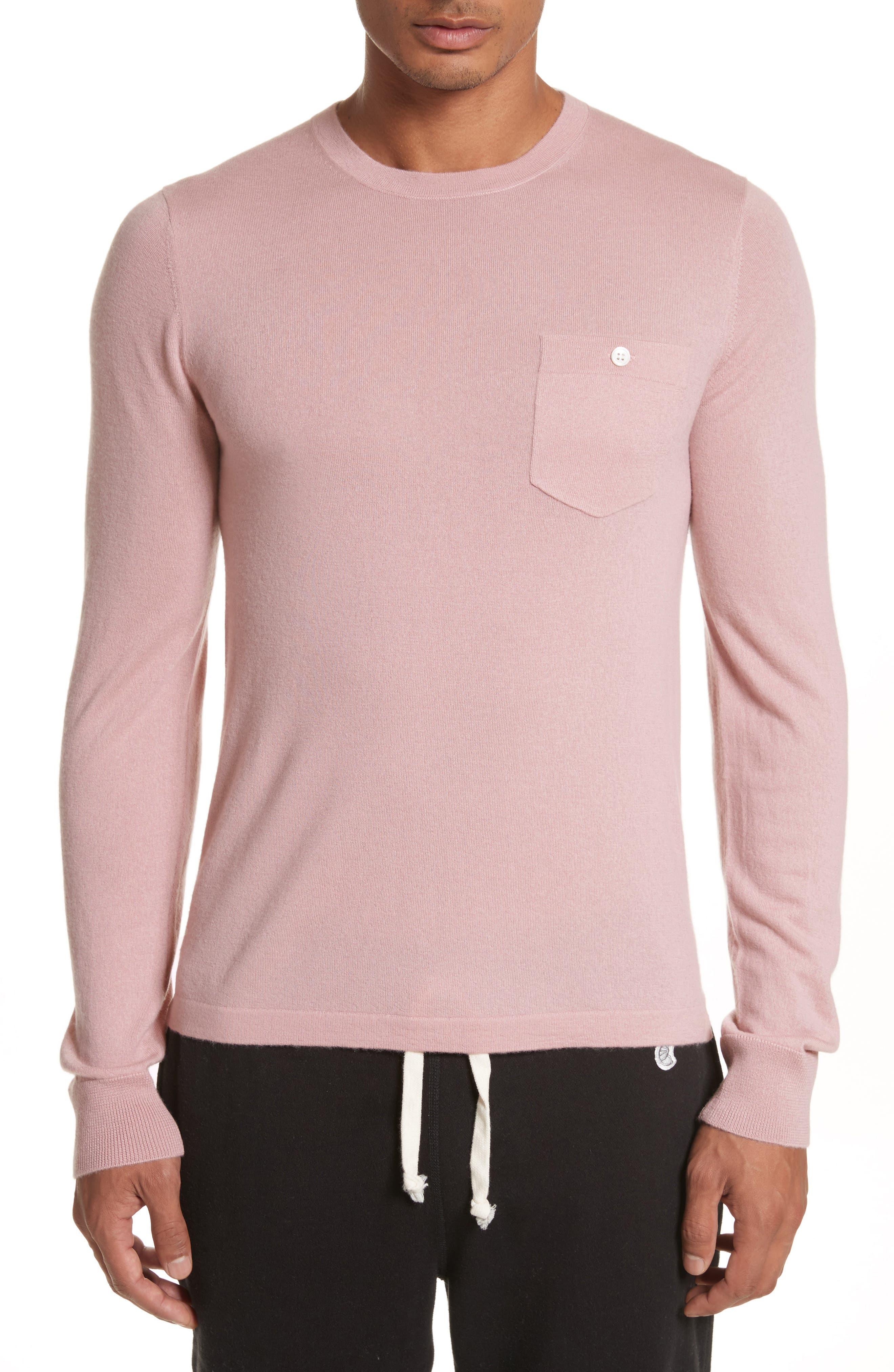 Cashmere Long Sleeve T-Shirt,                             Main thumbnail 1, color,