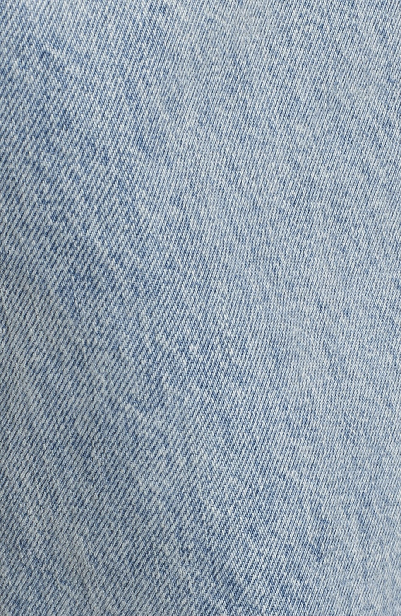 Dixon Straight Fit Jeans,                             Alternate thumbnail 5, color,                             451