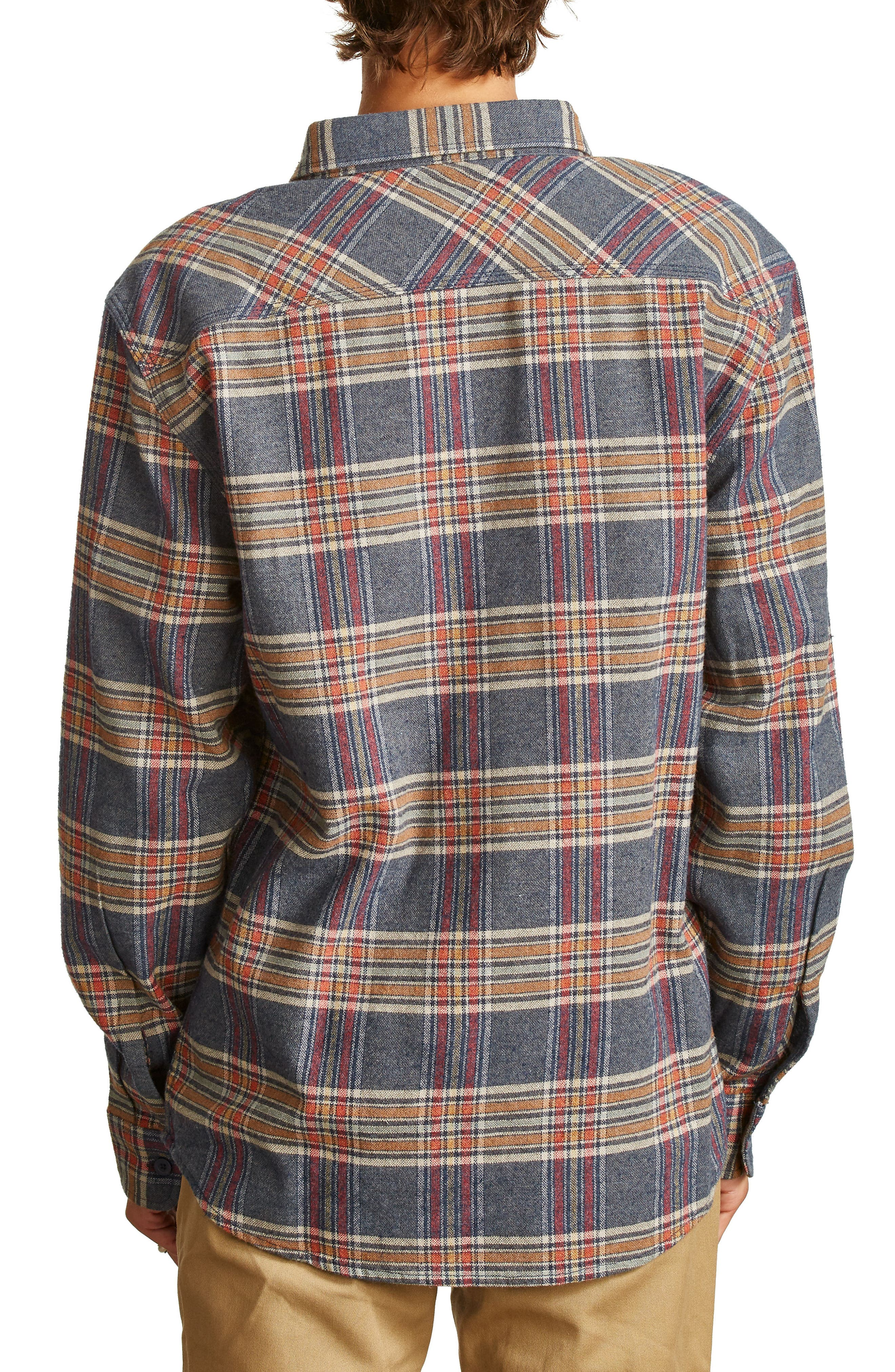Bowery Flannel Shirt,                             Alternate thumbnail 21, color,