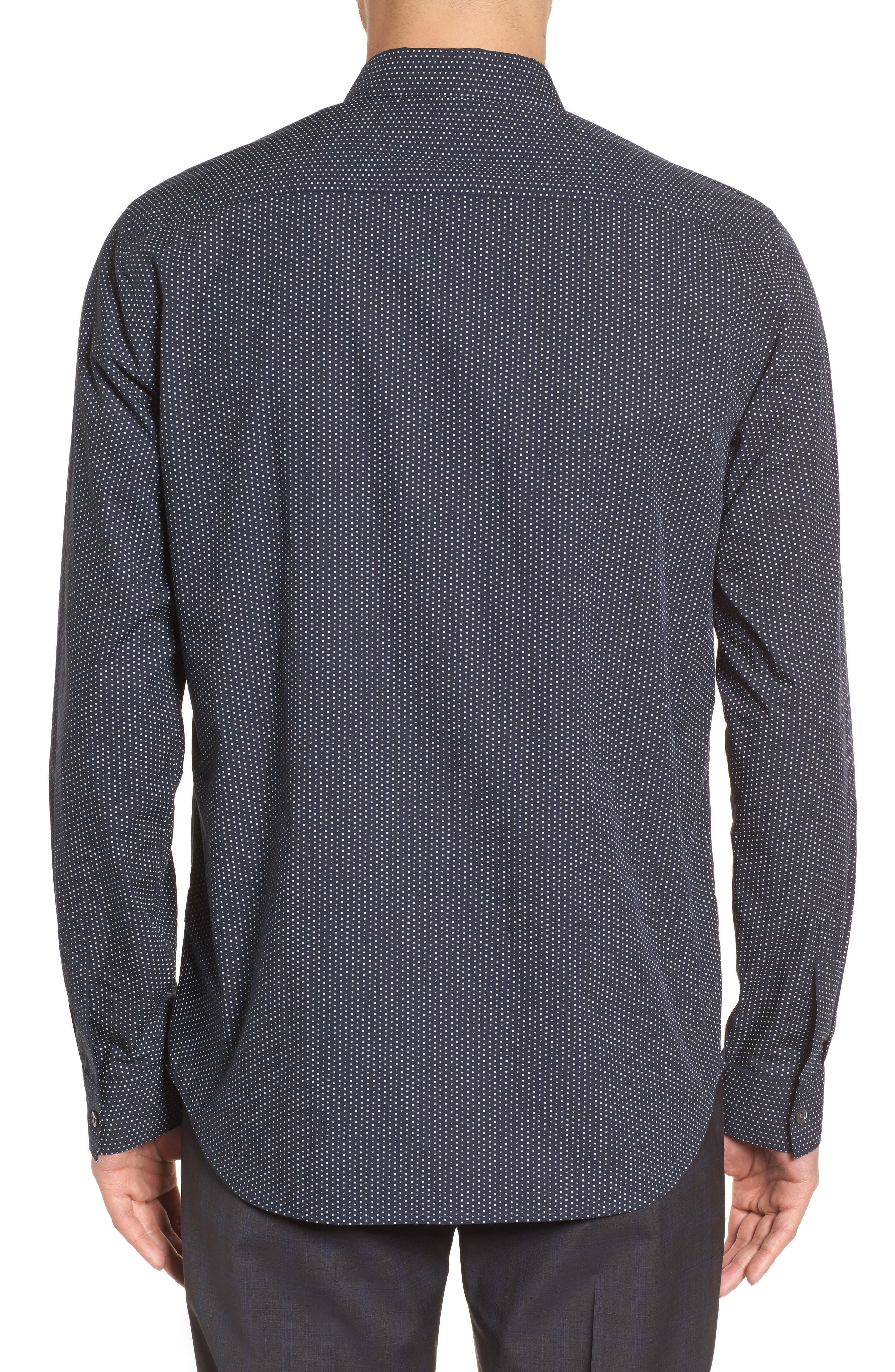 Murray Slim Fit Sport Shirt,                             Alternate thumbnail 4, color,