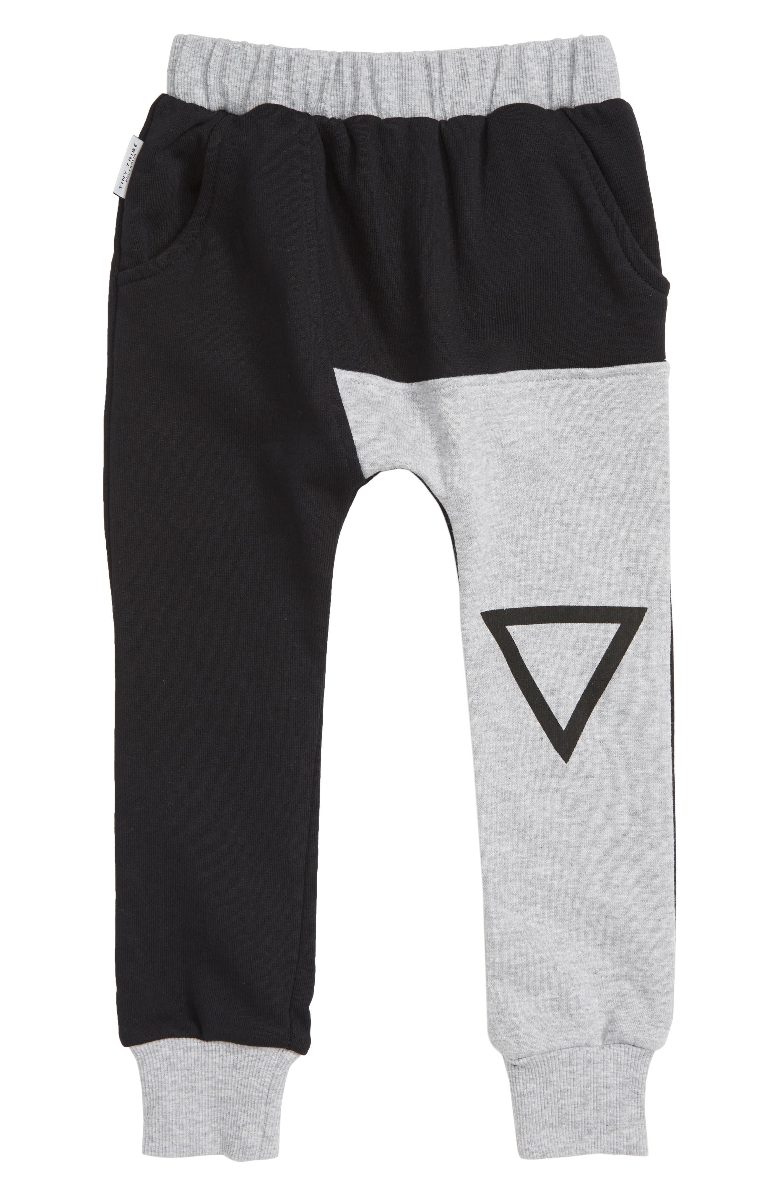 Triangle Sweatpants,                         Main,                         color, 001