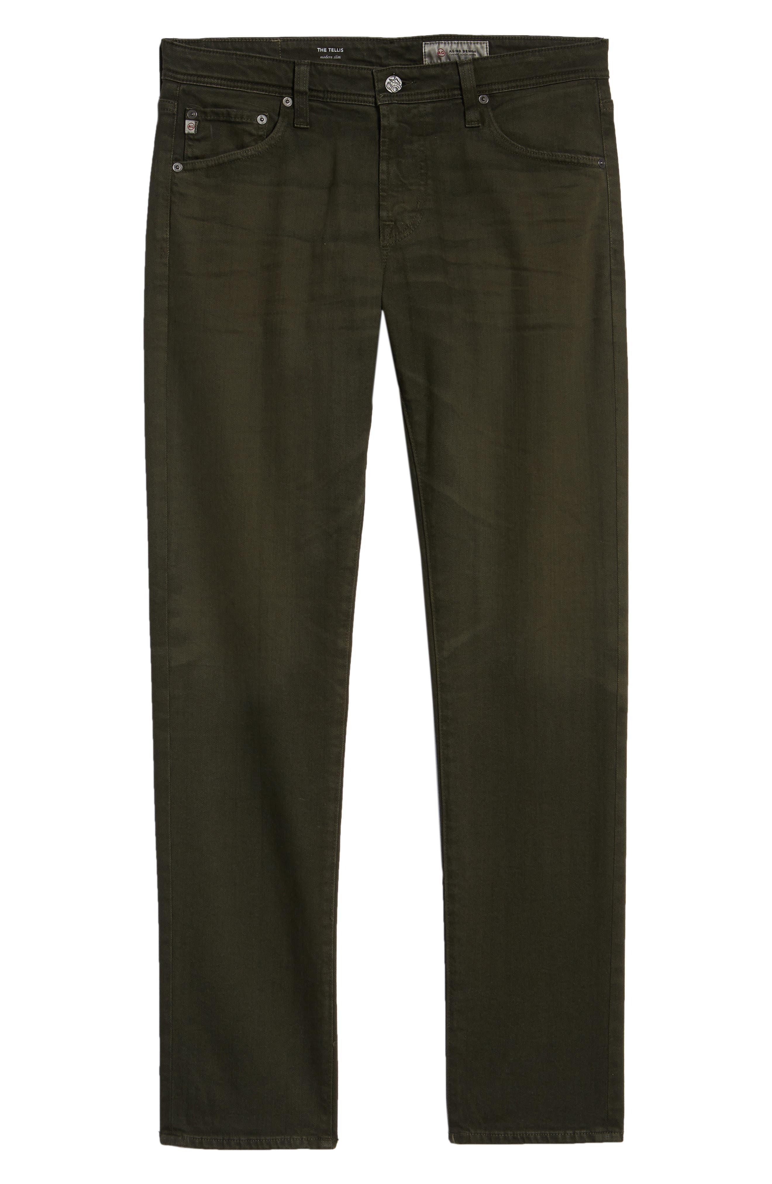 Tellis Slim Fit Jeans,                             Alternate thumbnail 6, color,                             7 YEARS OAK GROVE