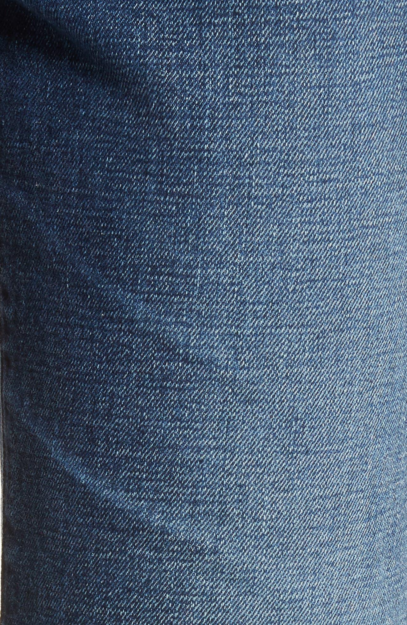 The Rhett Vintage High Waist Crop Jeans,                             Alternate thumbnail 6, color,                             415