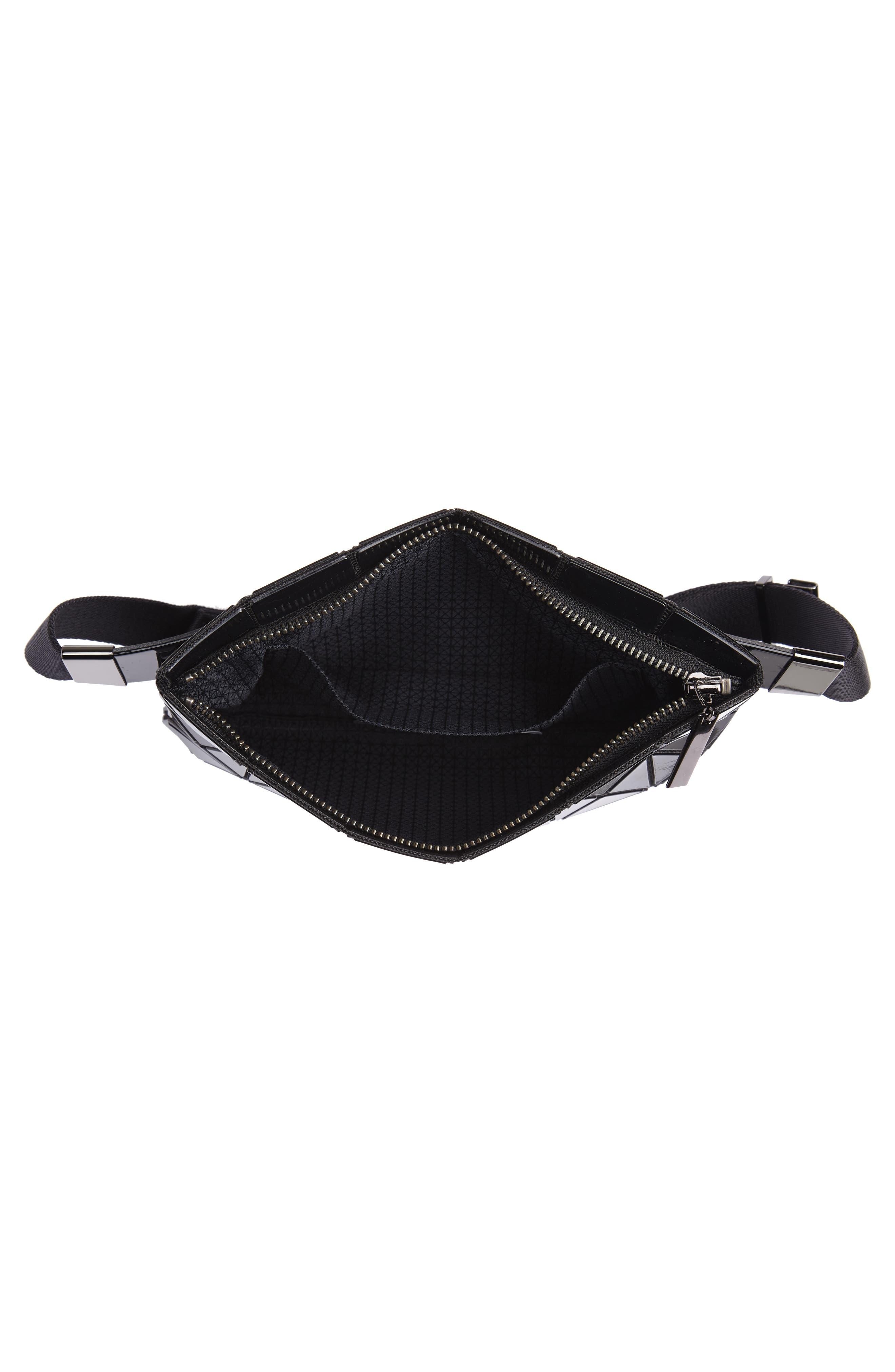 Prism Belt Bag,                             Alternate thumbnail 5, color,                             BLACK
