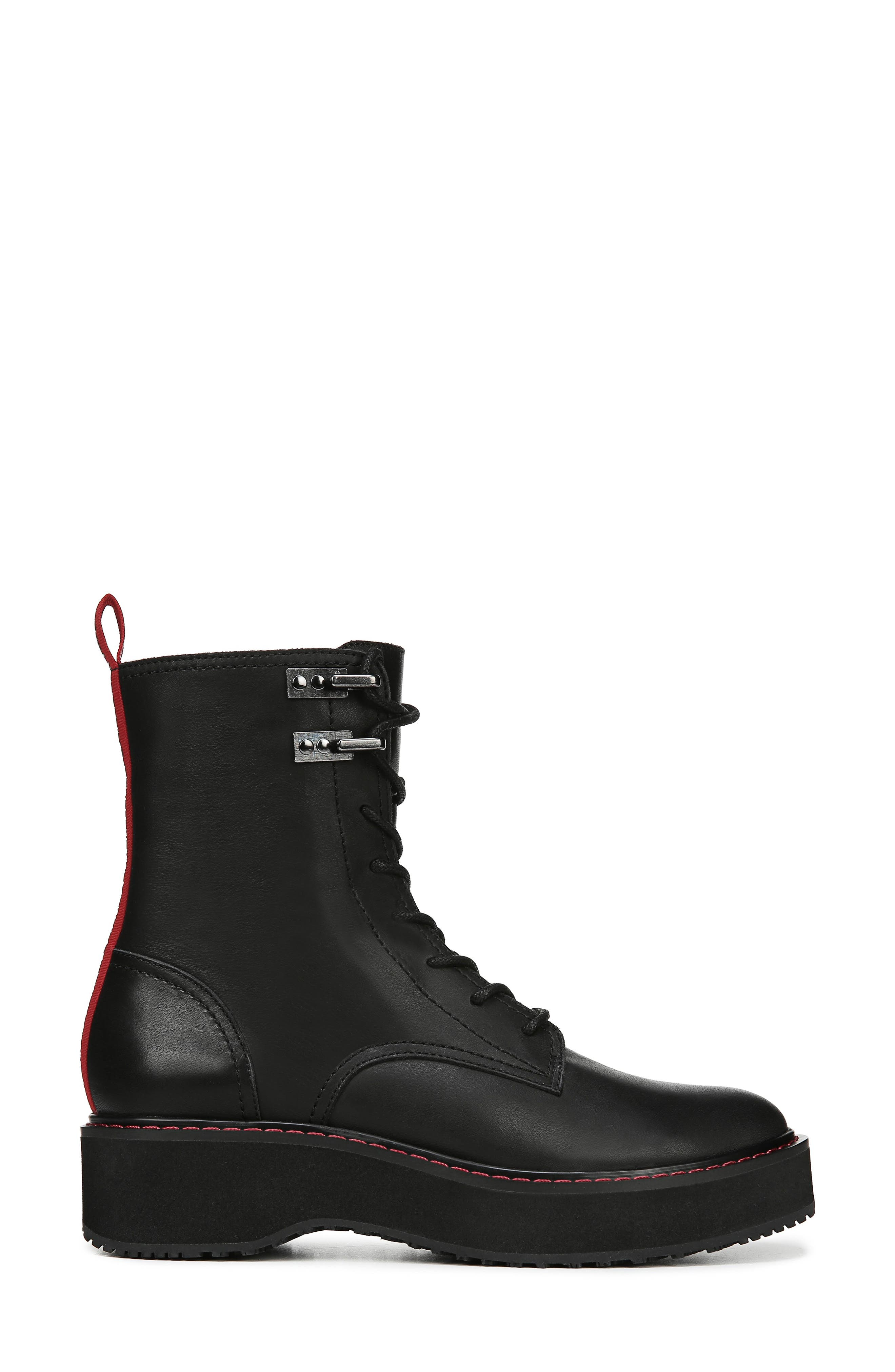 In Charge Boot,                             Alternate thumbnail 3, color,                             BLACK