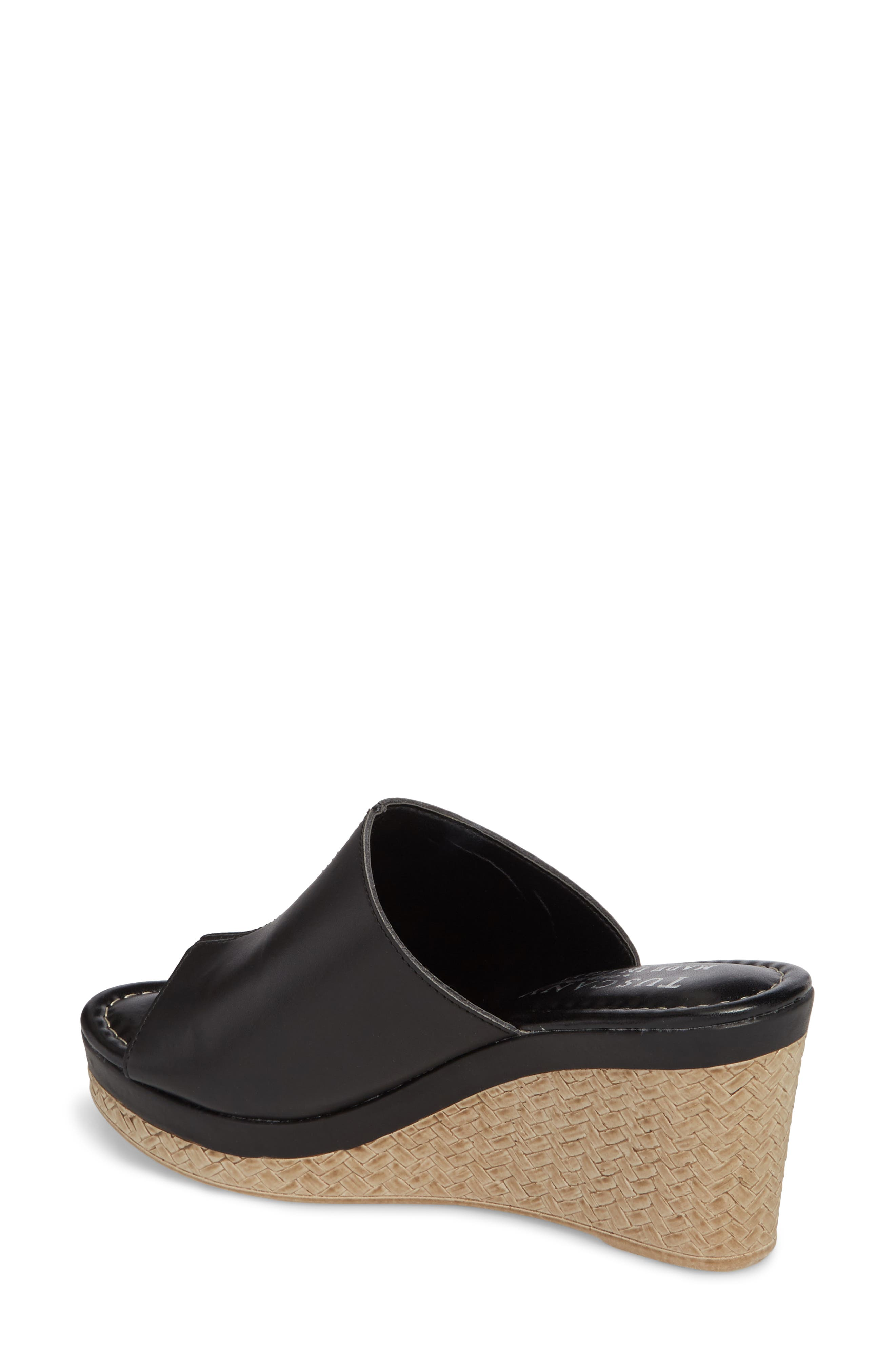 TUSCANY BY EASY STREET<SUP>®</SUP>,                             Octavia Espadrille Wedge,                             Alternate thumbnail 2, color,                             001