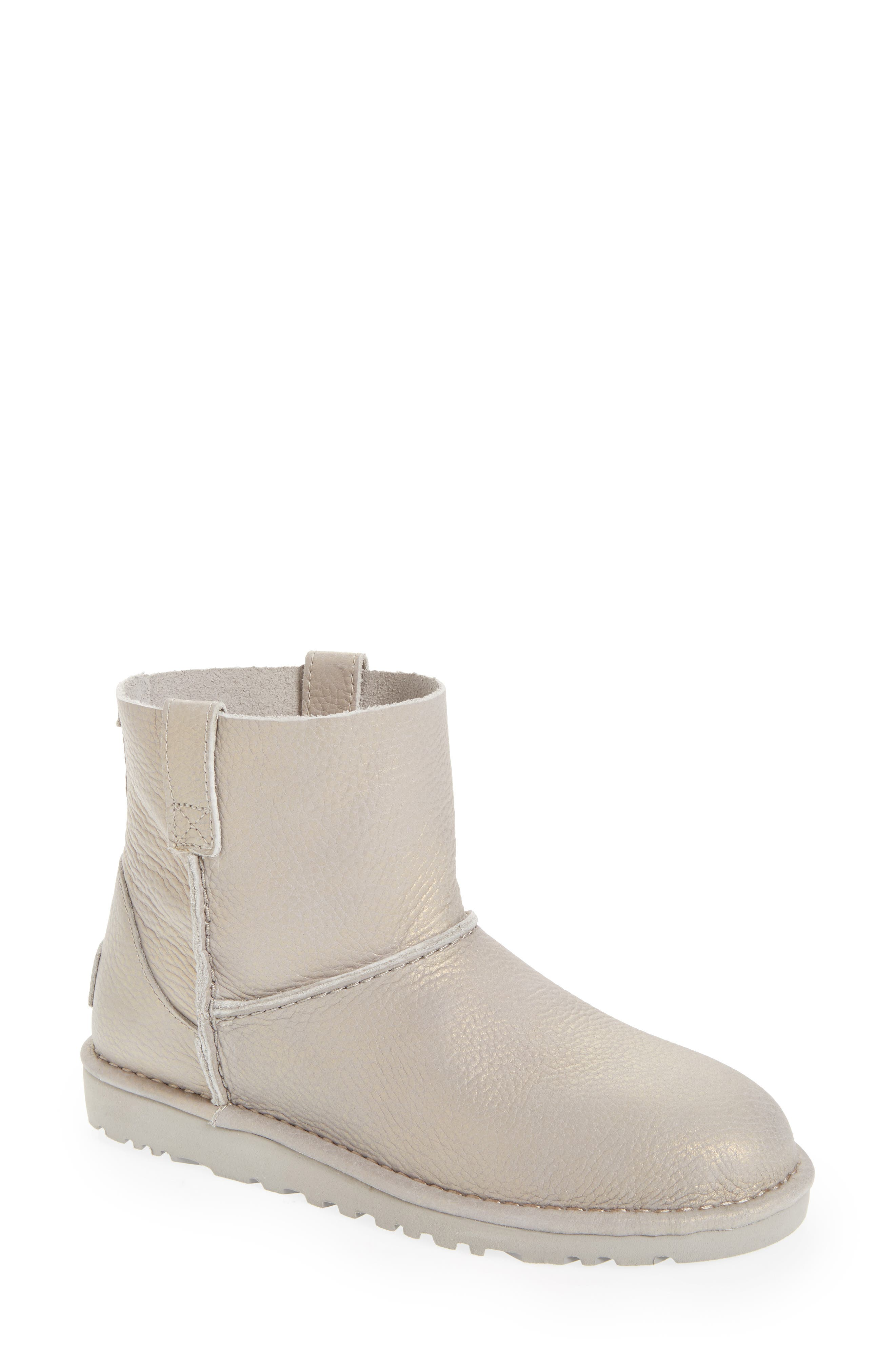 UGG<SUP>®</SUP>,                             Classic Unlined Mini Boot,                             Main thumbnail 1, color,                             040