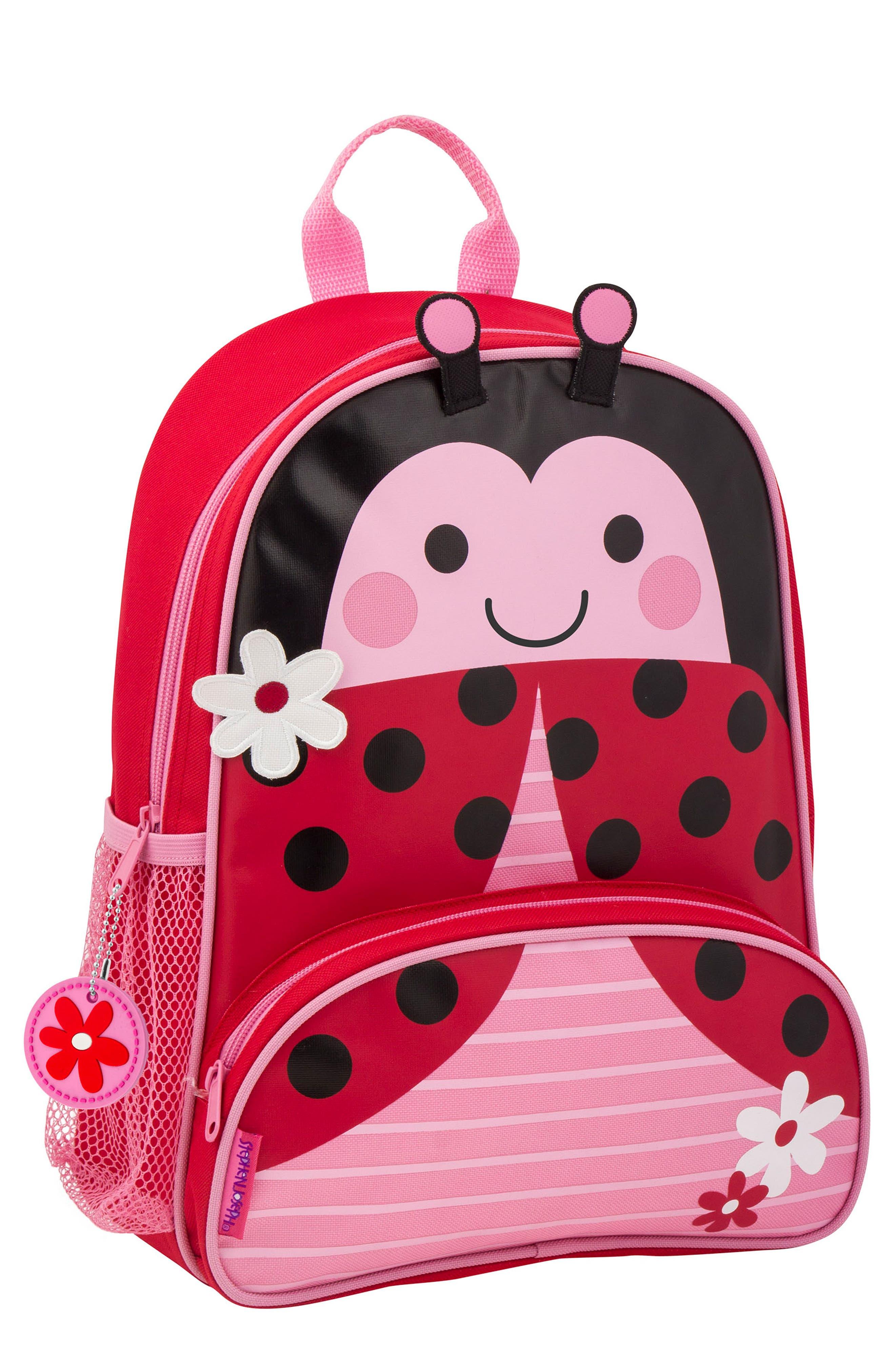 STEPHEN JOSEPH,                             Ladybug Sidekick Backpack & Lunch Pal,                             Alternate thumbnail 4, color,                             LADYBUG