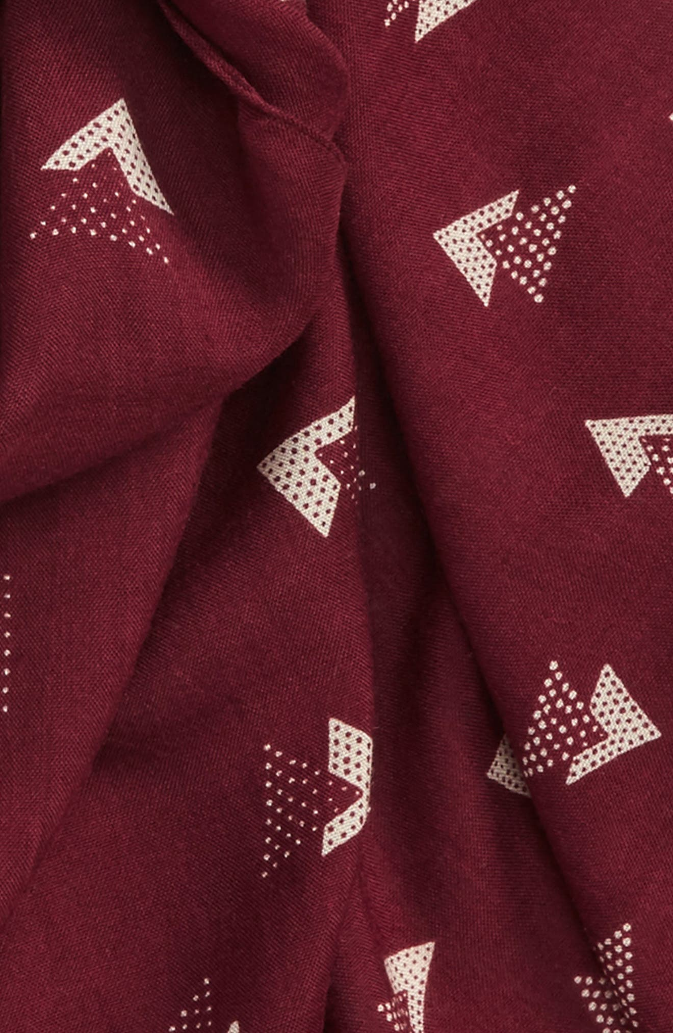 Triangles Scarf,                             Alternate thumbnail 4, color,                             930