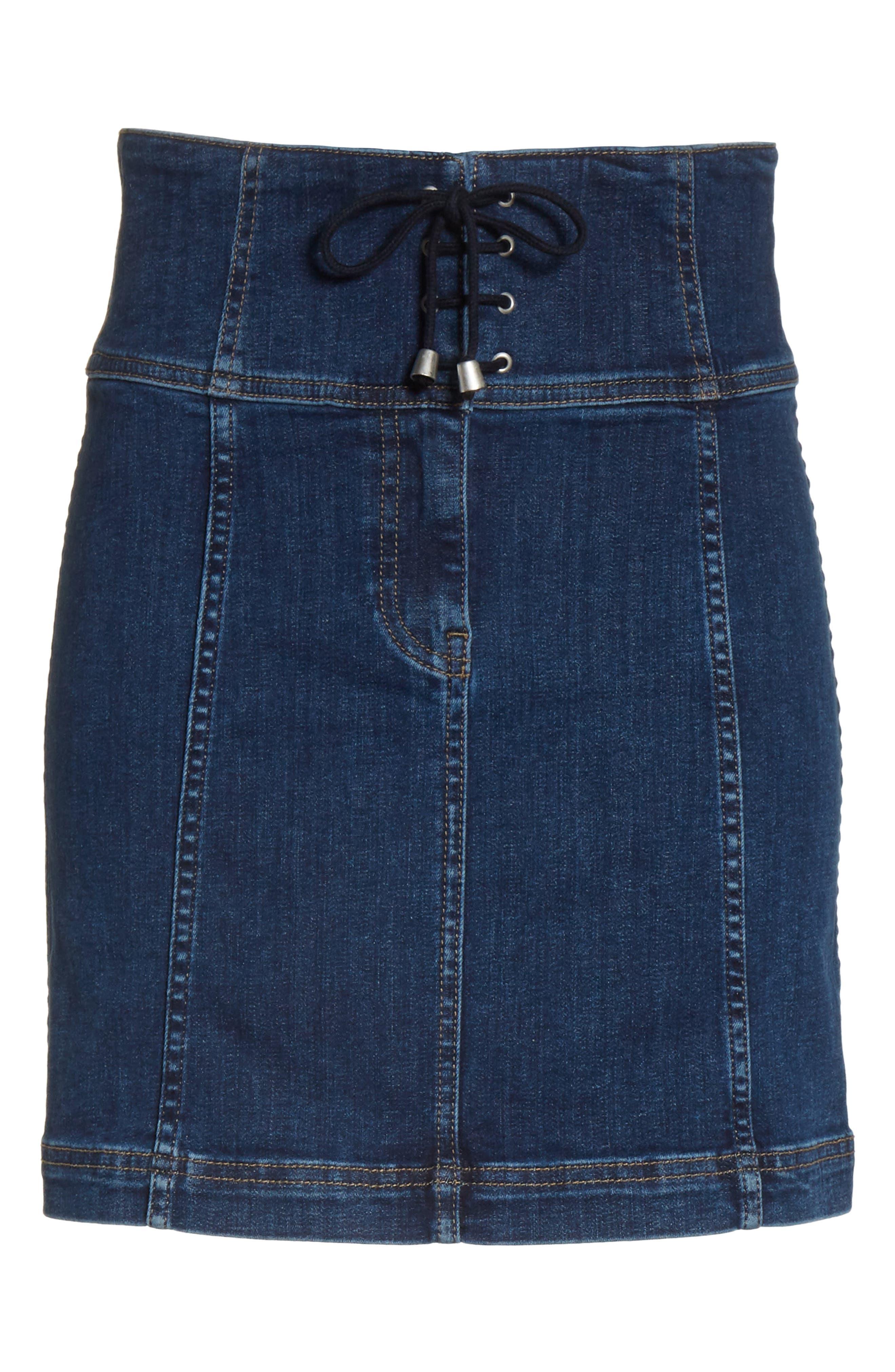 Modern Femme Corset Skirt,                             Alternate thumbnail 6, color,