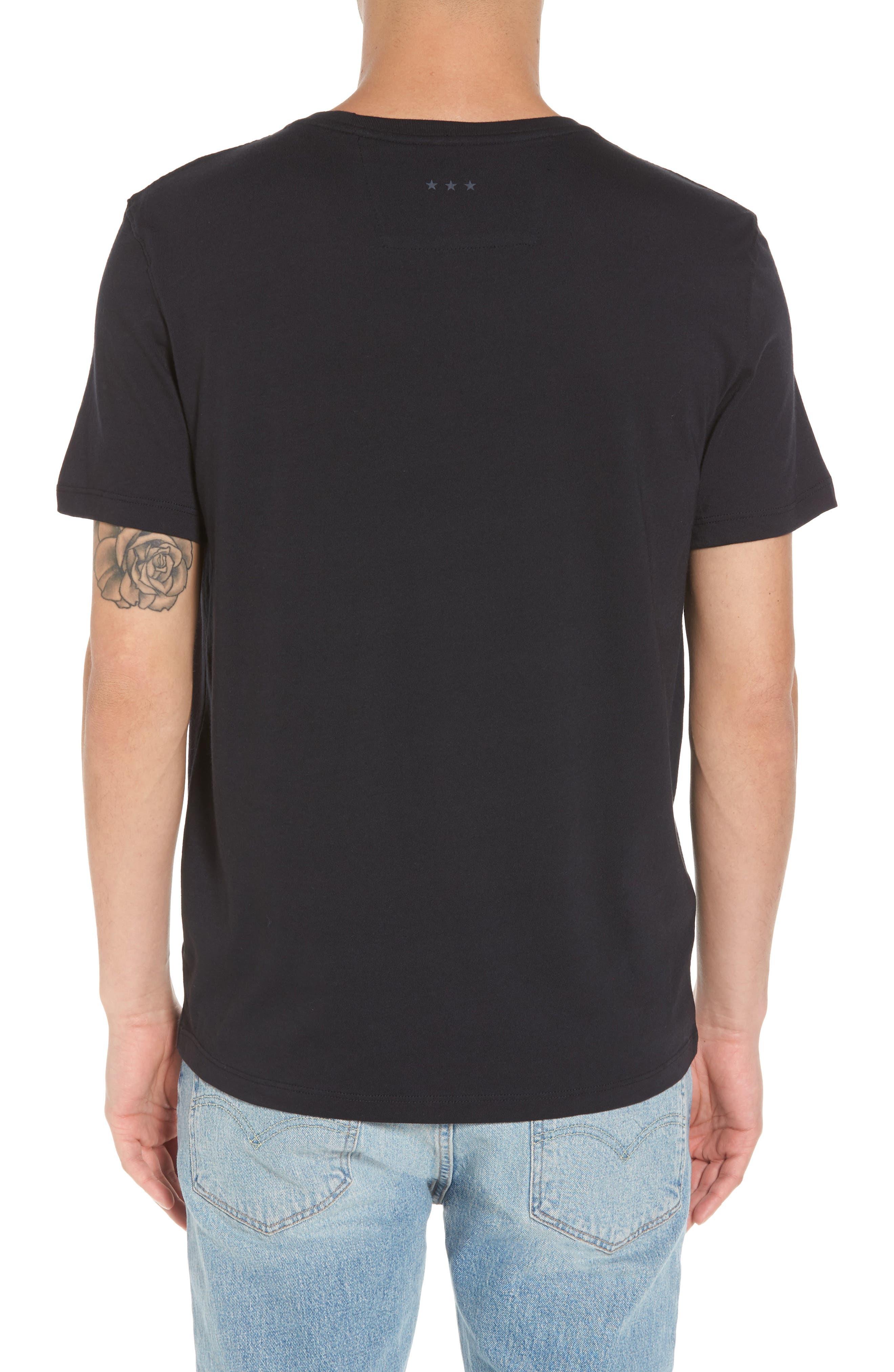 Guns N Roses Graphic T-Shirt,                             Alternate thumbnail 2, color,                             001
