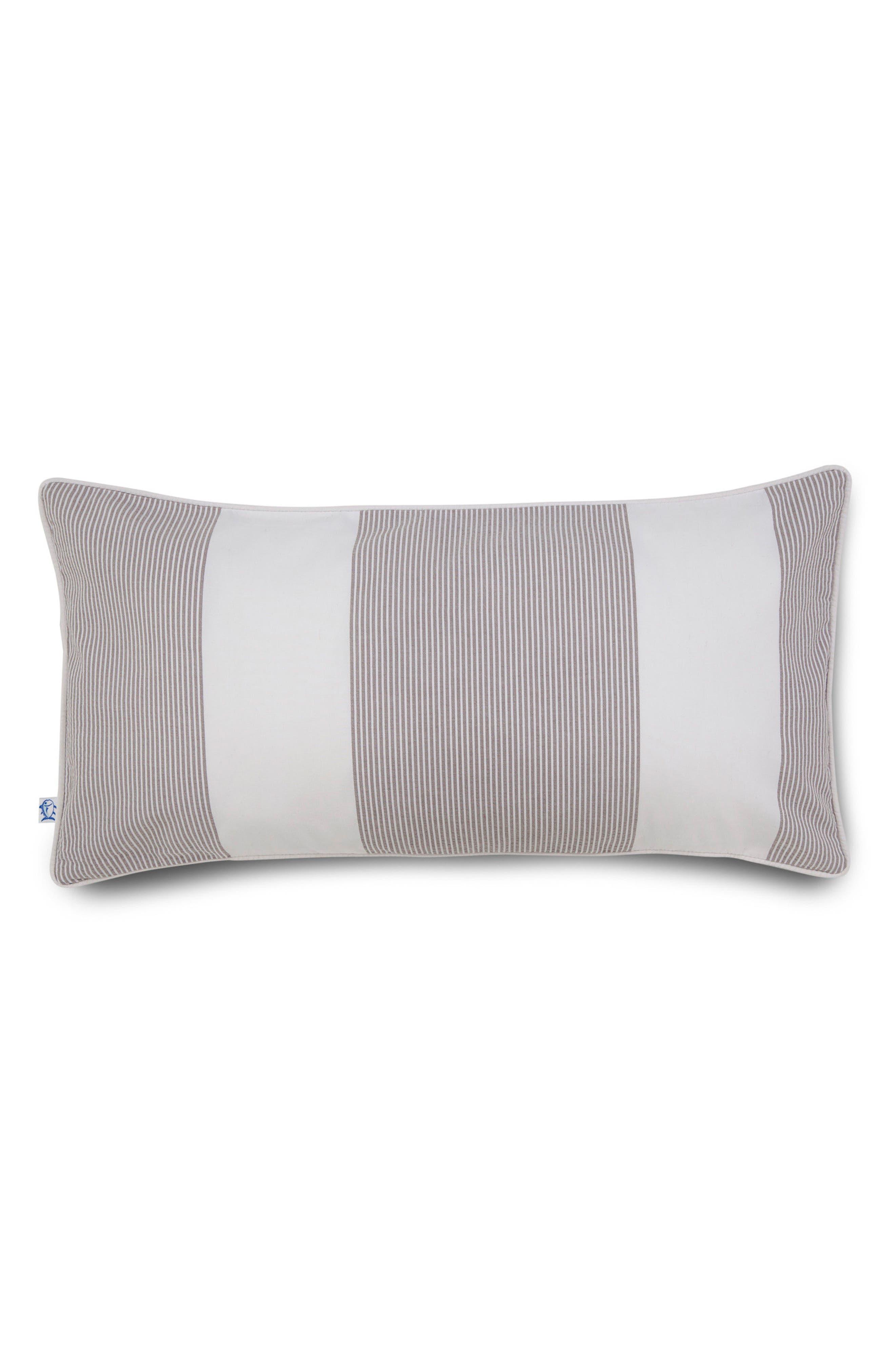 Breakwater Seersucker Nautical Accent Pillow,                         Main,                         color, 020