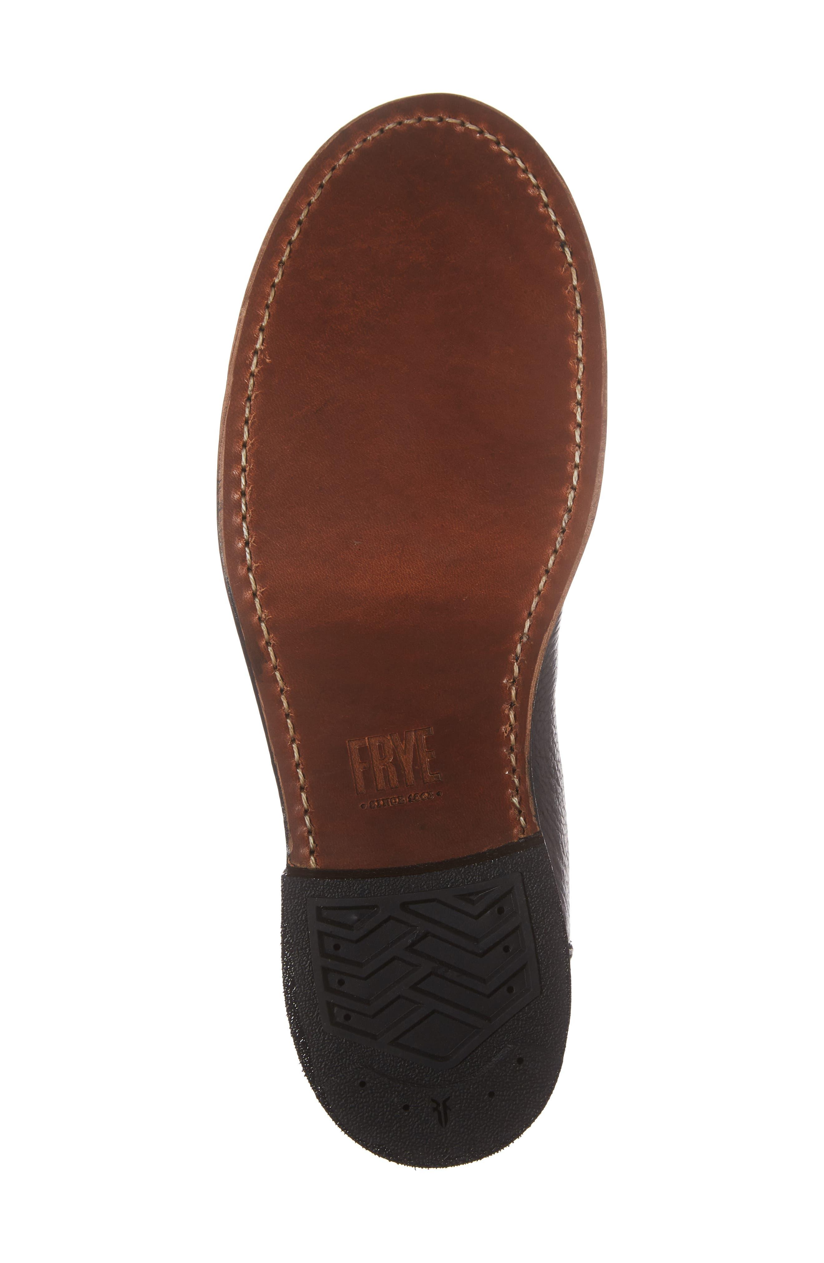 Frey Garrison Cap Toe Boot,                             Alternate thumbnail 6, color,                             010