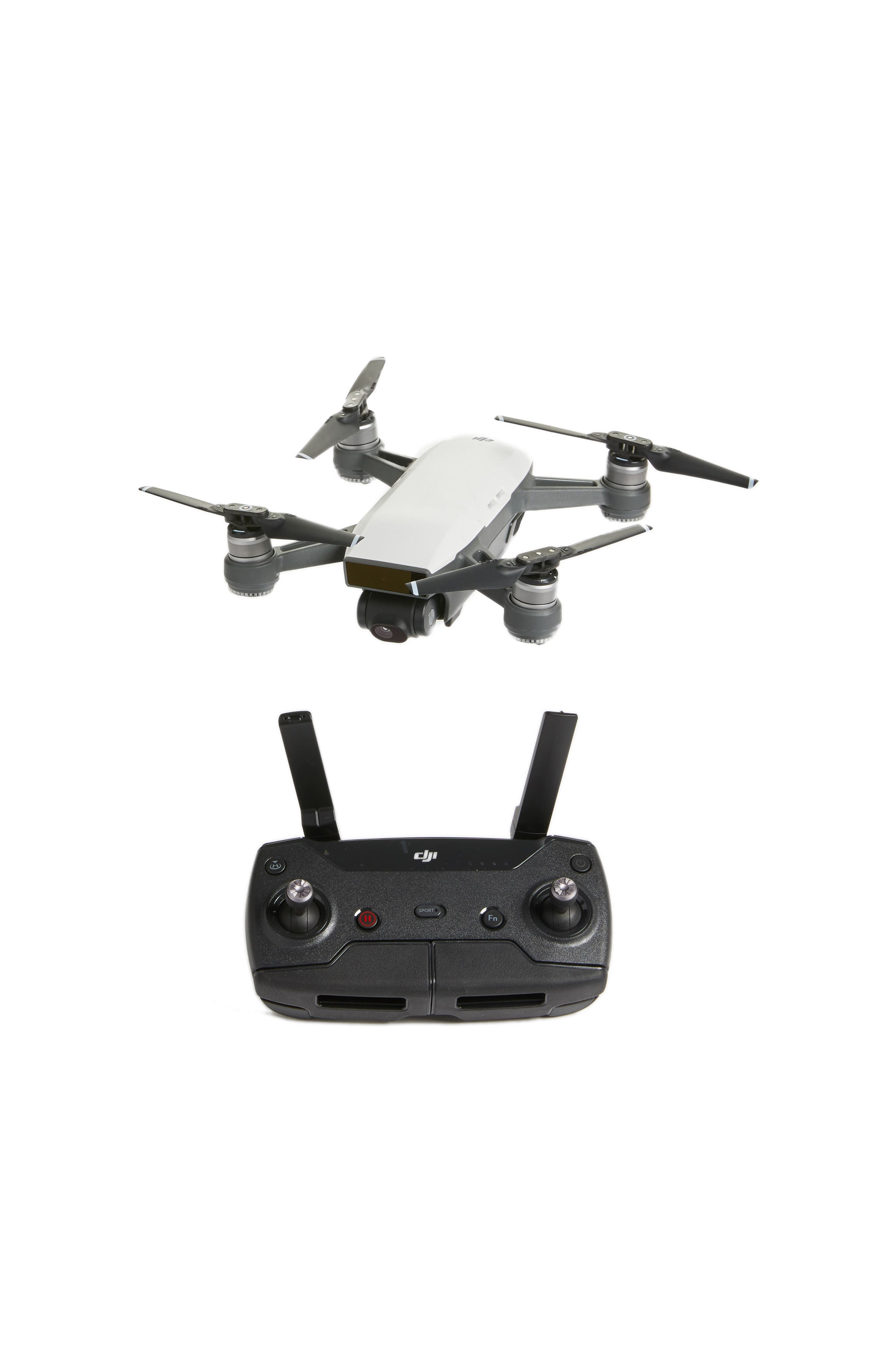 DJI,                             Spark Fly More Combo Mini Flying Quadcopter & Accessories,                             Main thumbnail 1, color,                             100