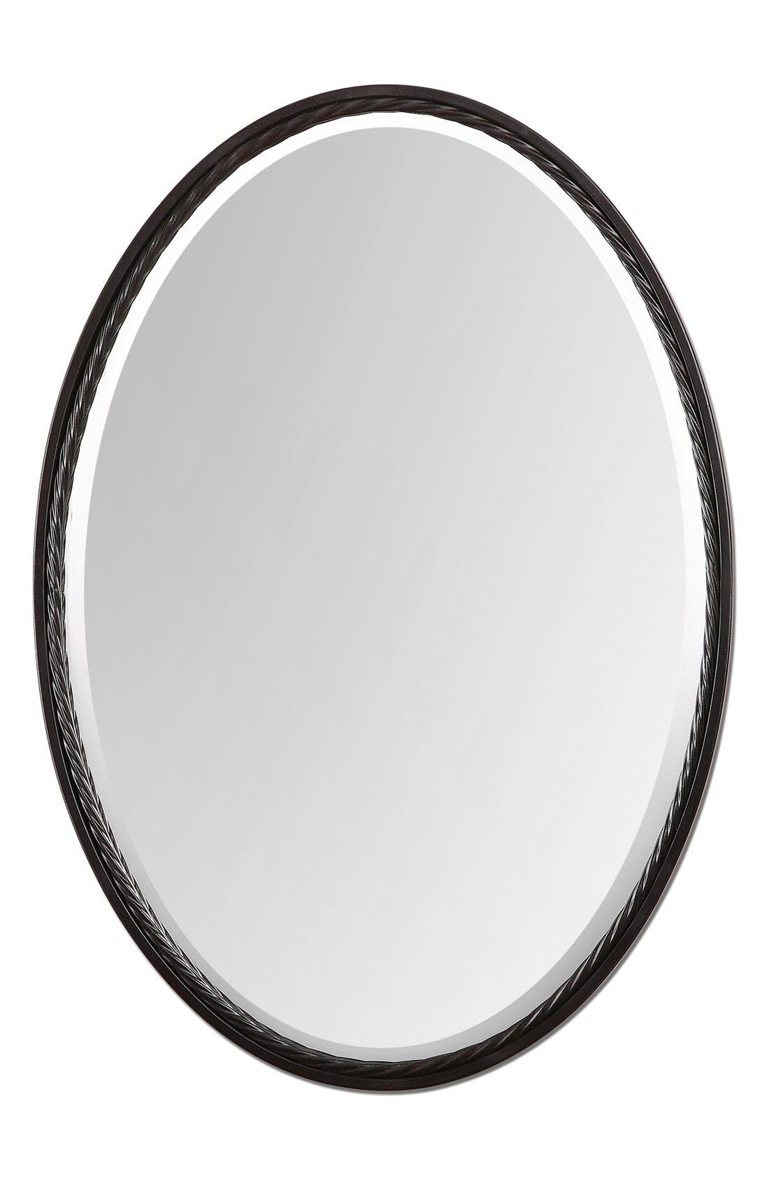 'Casalina' Oval Mirror,                             Main thumbnail 2, color,