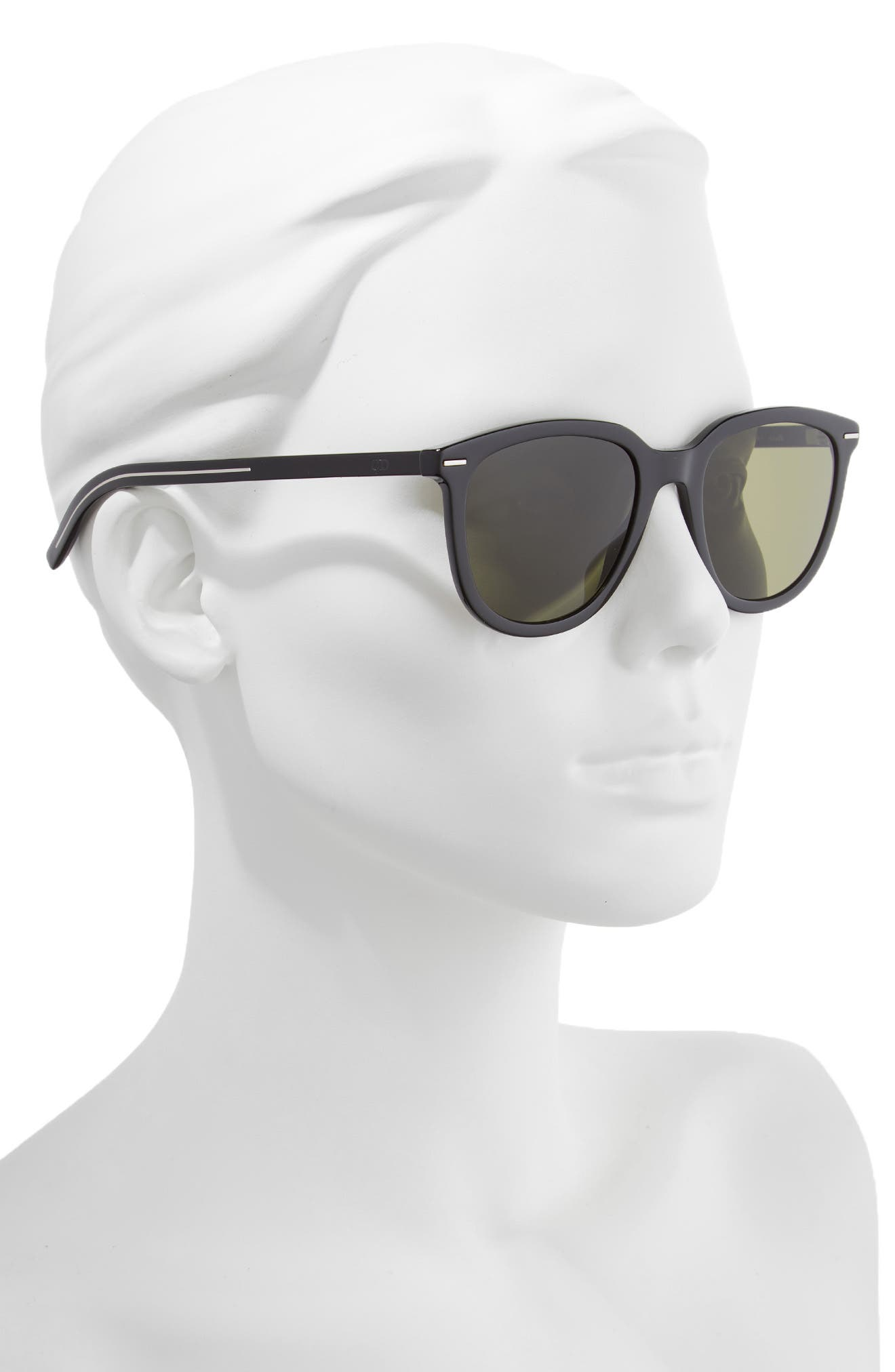 51mm Sunglasses,                             Alternate thumbnail 2, color,                             BLACK