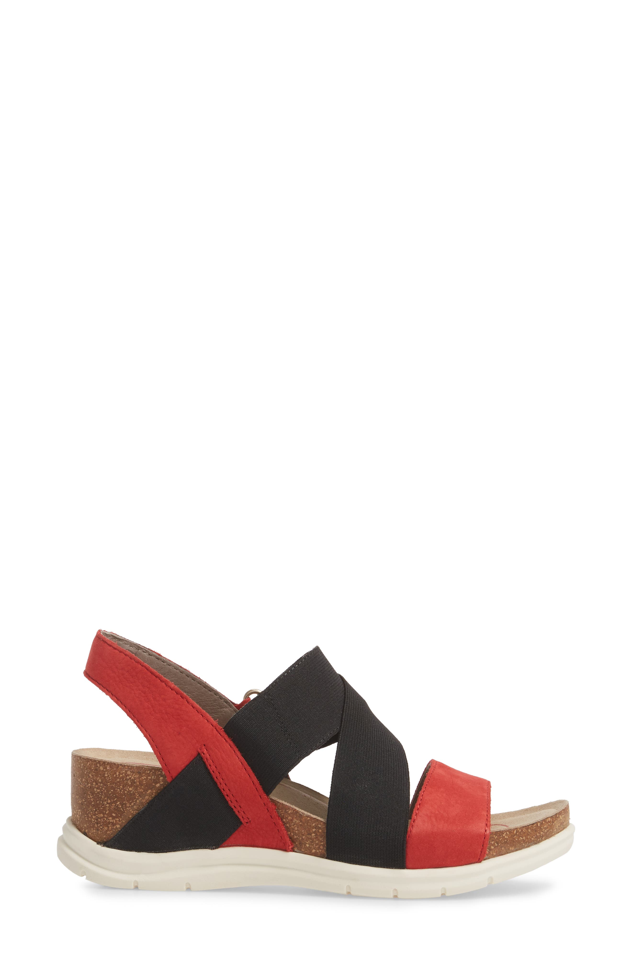 Paisley Wedge Sandal,                             Alternate thumbnail 12, color,
