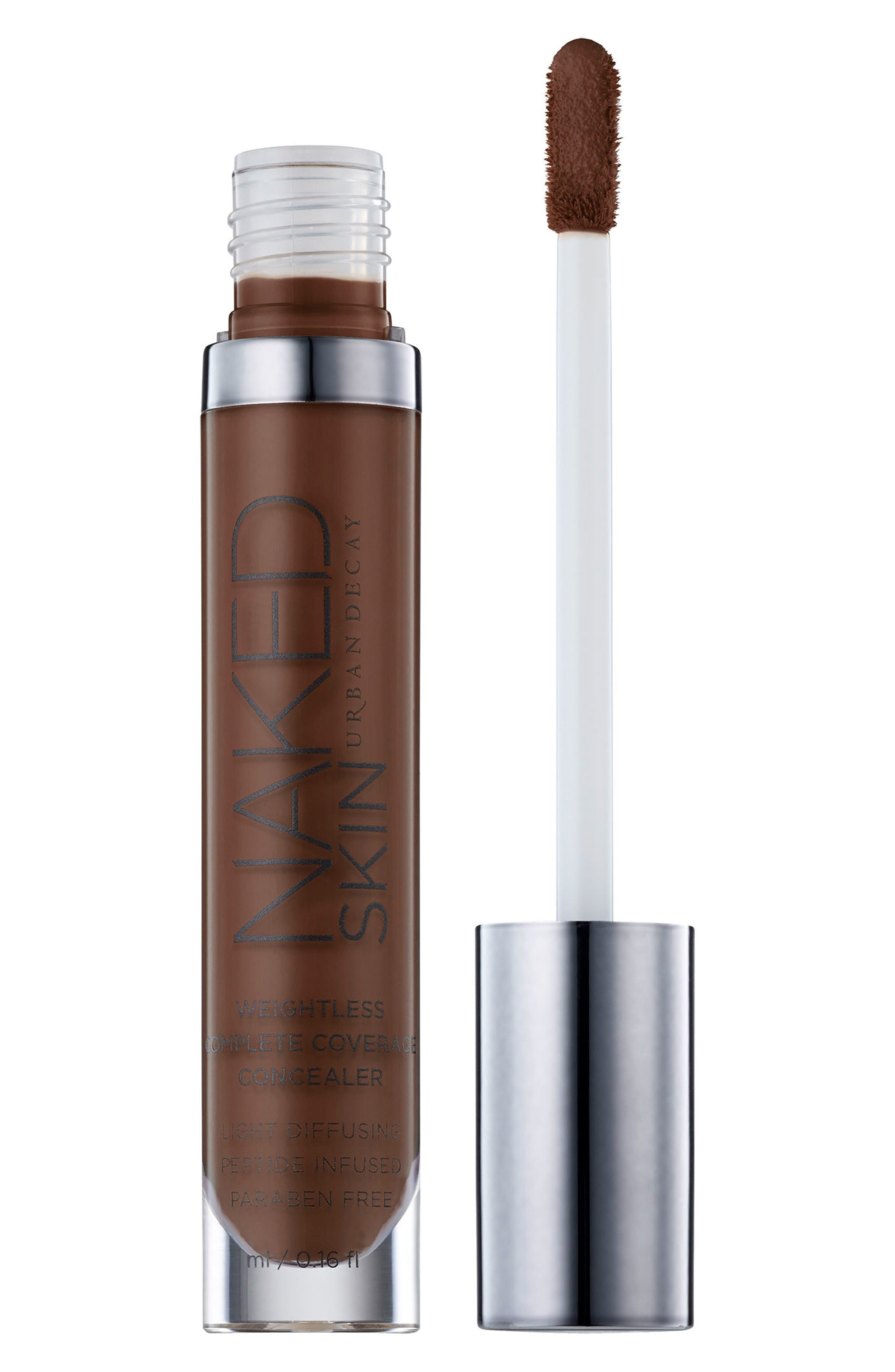 Naked Skin Weightless Complete Coverage Concealer,                             Alternate thumbnail 2, color,                             EXTRA DEEP NEUTRAL