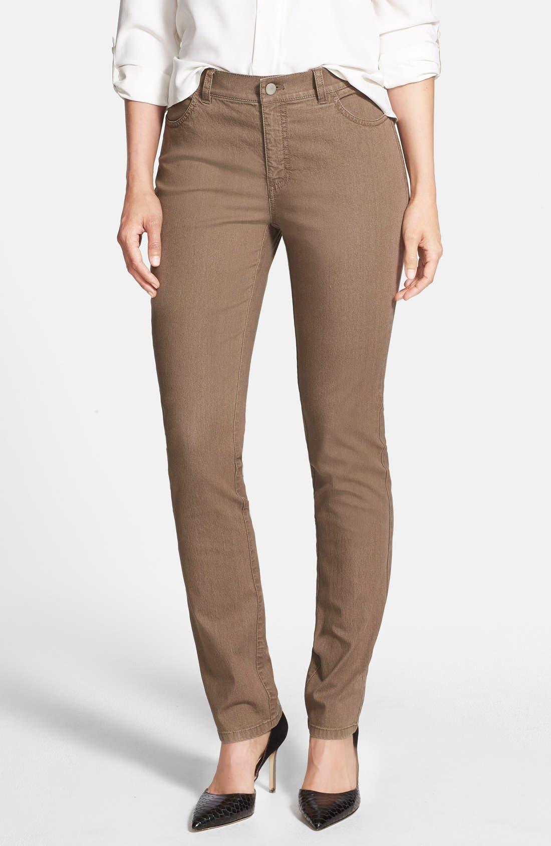 'Primo Denim' Curvy Fit Slim Leg Jeans,                             Main thumbnail 4, color,