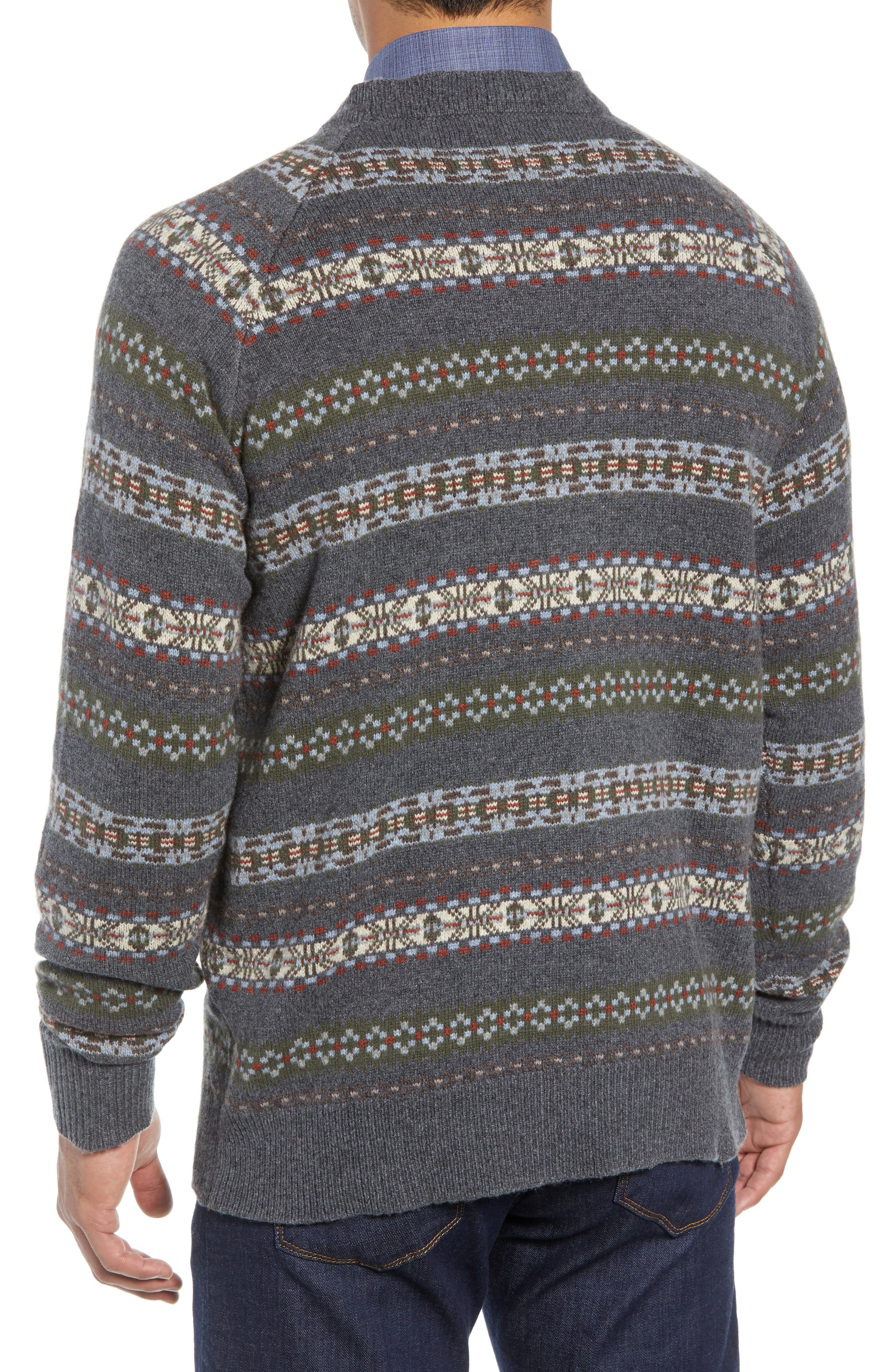 Mountainside Fair Isle Crewneck Sweater,                             Alternate thumbnail 2, color,                             017